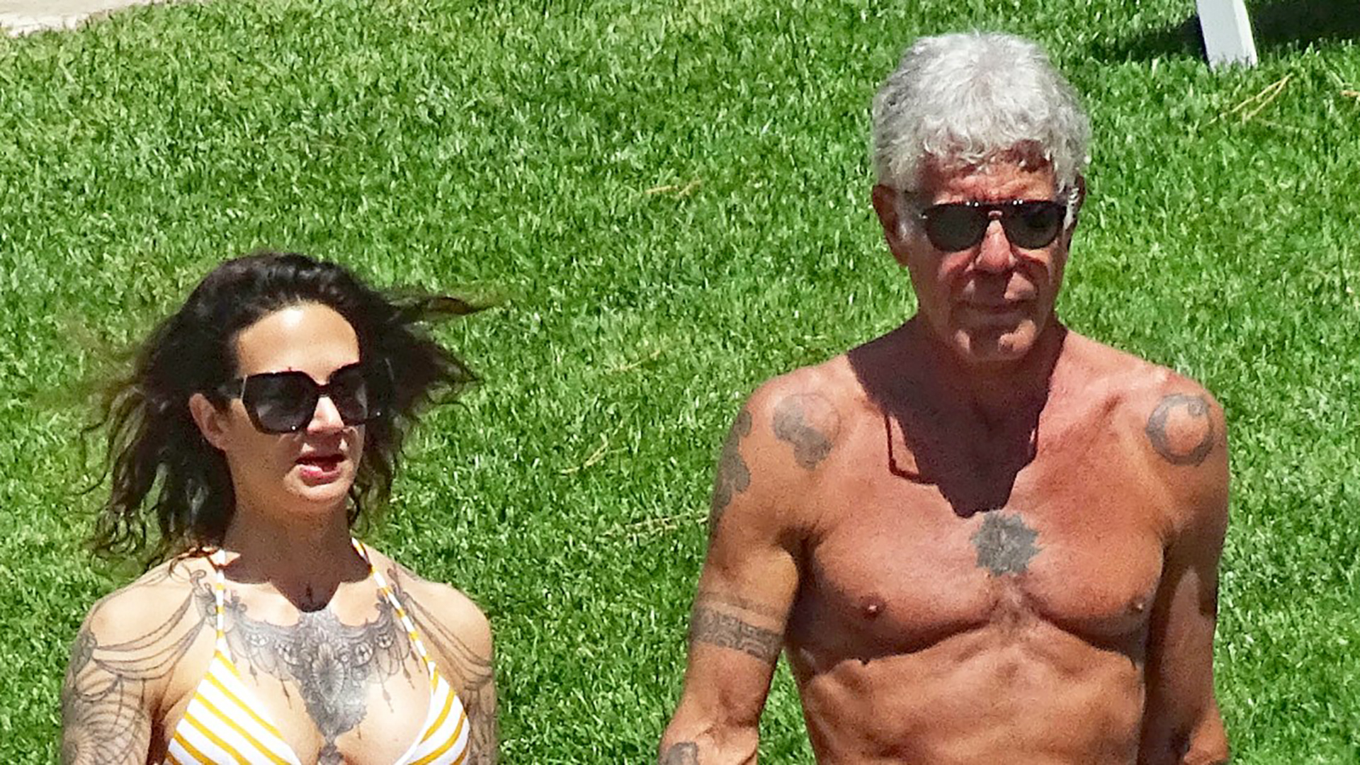Anthony Bourdain y Asia Argento