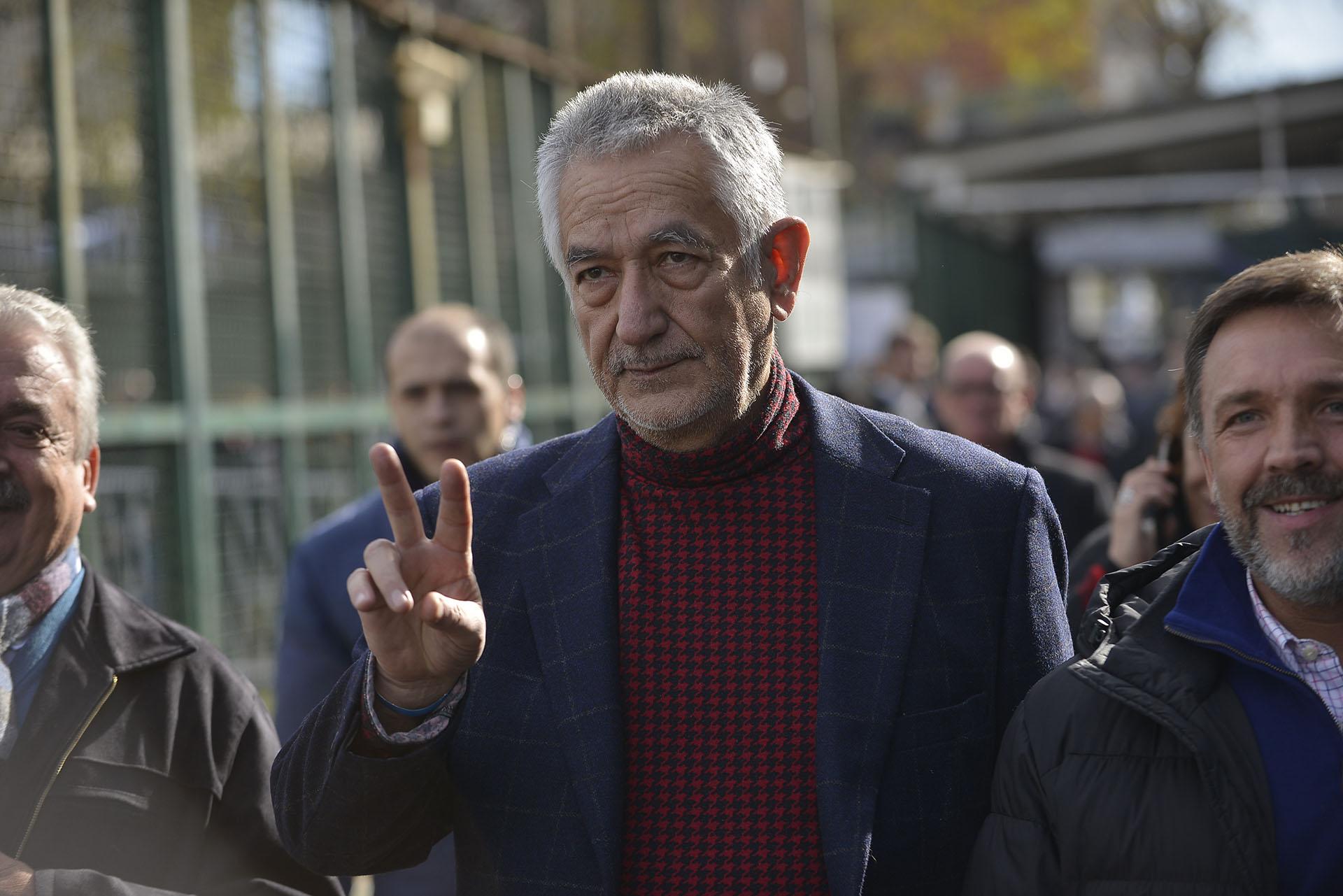 El gobernador de San Juan y aliado de Cristina Kirchner Alberto Rodríguez Saá