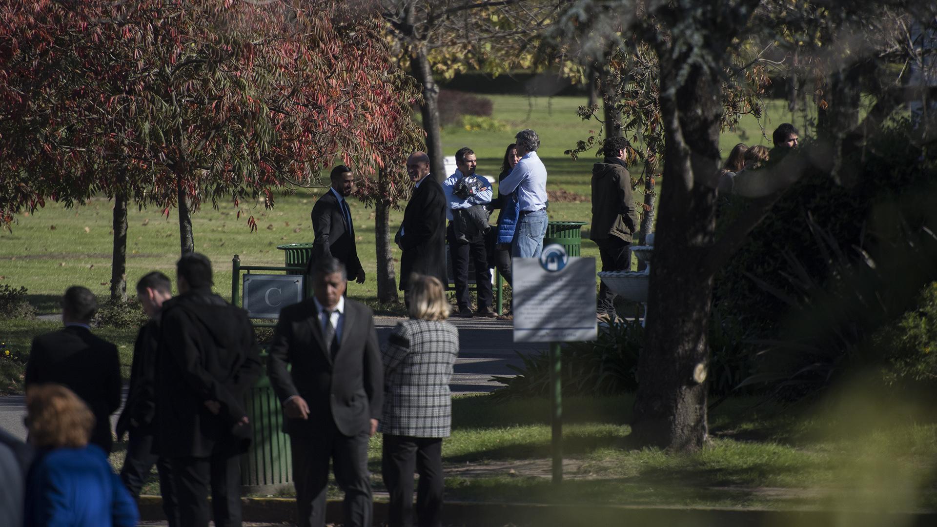 La Seguridad en el Parque Memorial estuvo a cargo de efectivos del Grupo Halcón y miembros de la seguridad de la Casa real de los Países Bajos