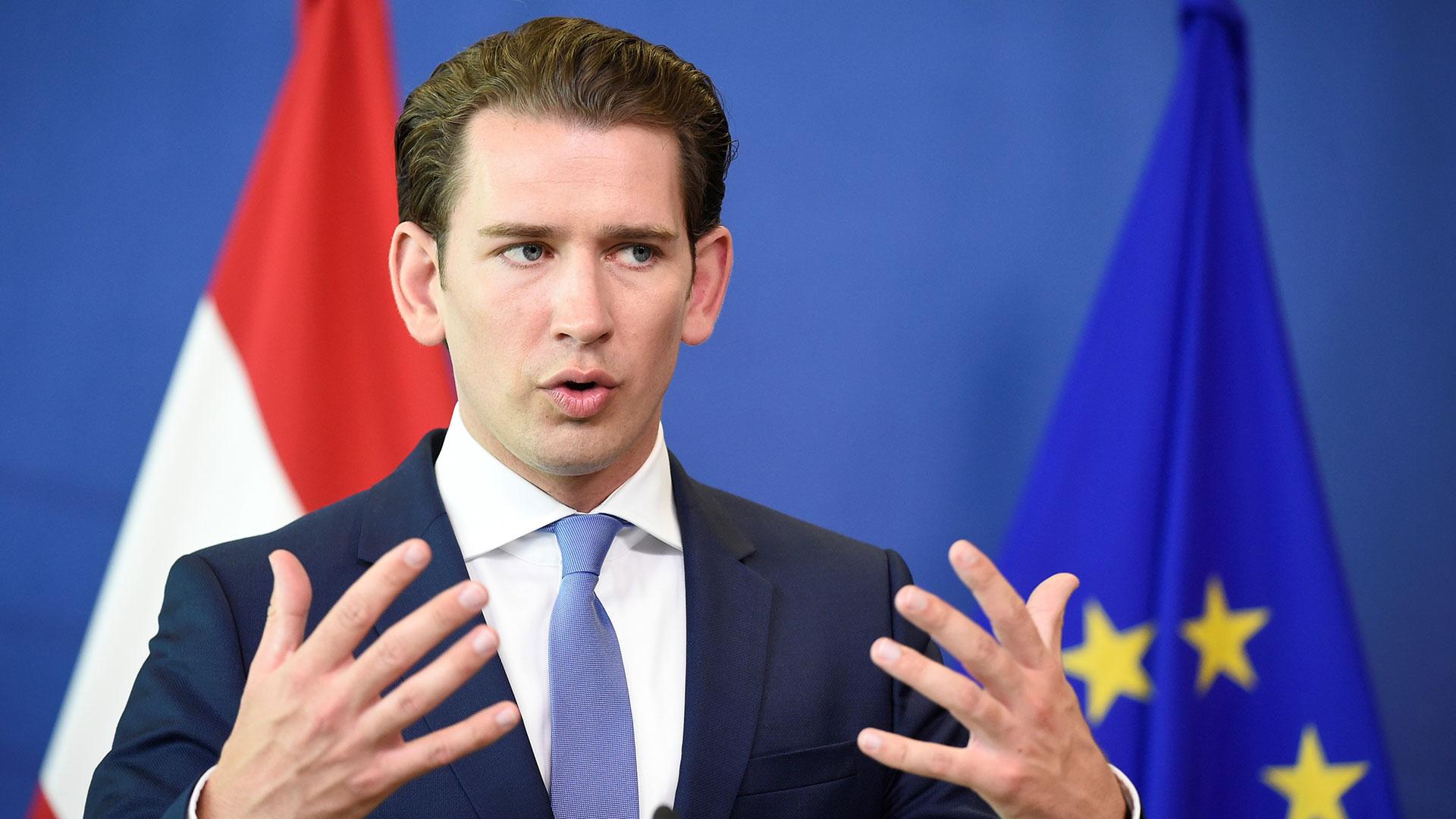 Escándalo en Austria: el canciller Sebastian Kurz convocó elecciones  anticipadas tras la renuncia del vicecanciller acusado de corrupción -  Infobae