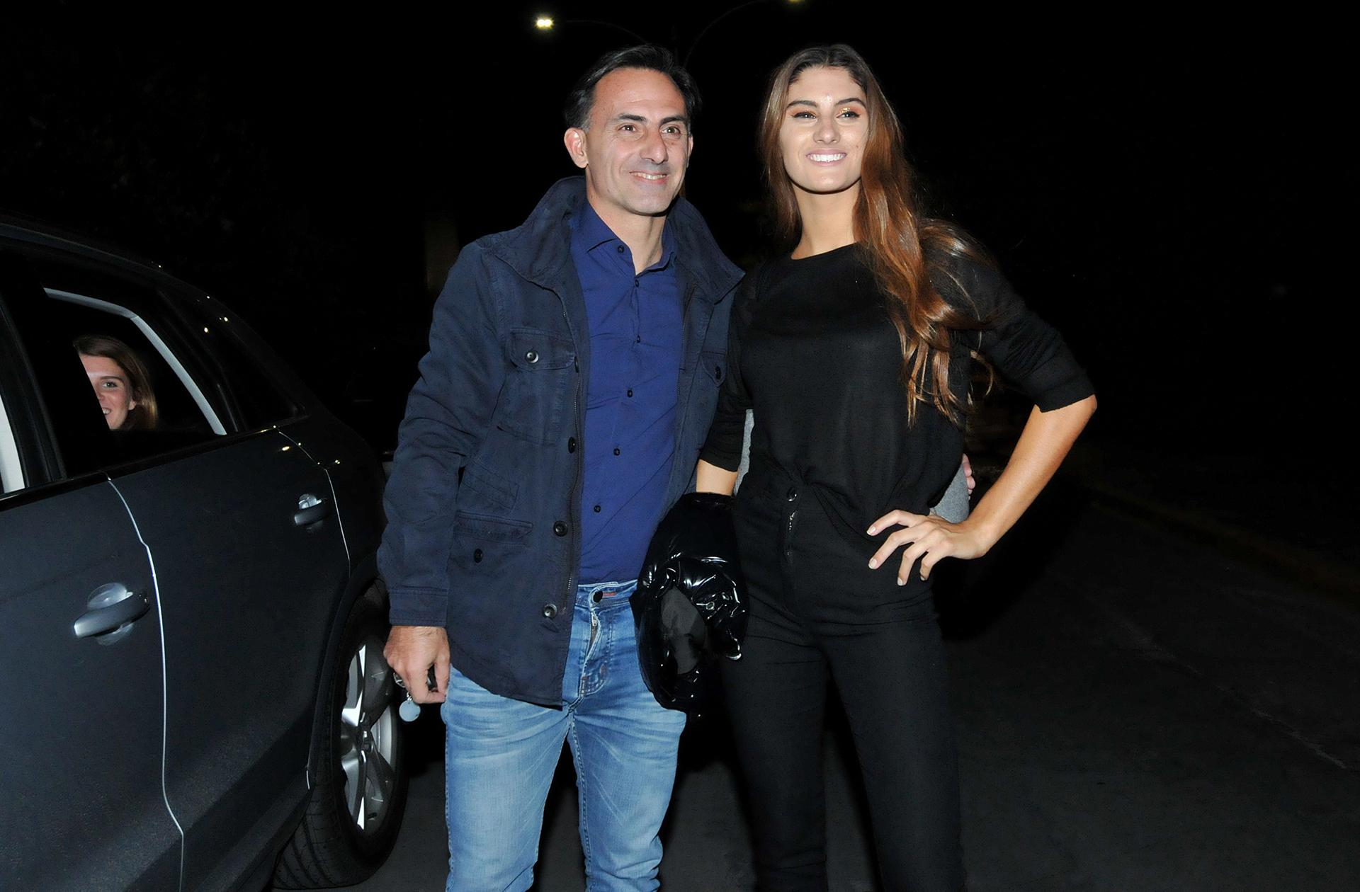El orgulllo de papá: Lola con Diego Latorre