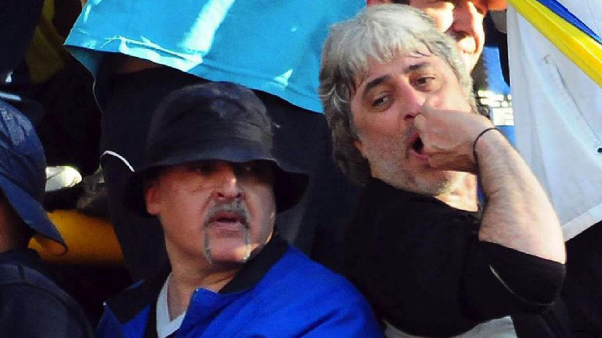 El ex jefe de la barra brava de Boca, Richard William Laluz Fernández, alias el Uruguayo, acusado de haber sido el cerebro del doble crimen