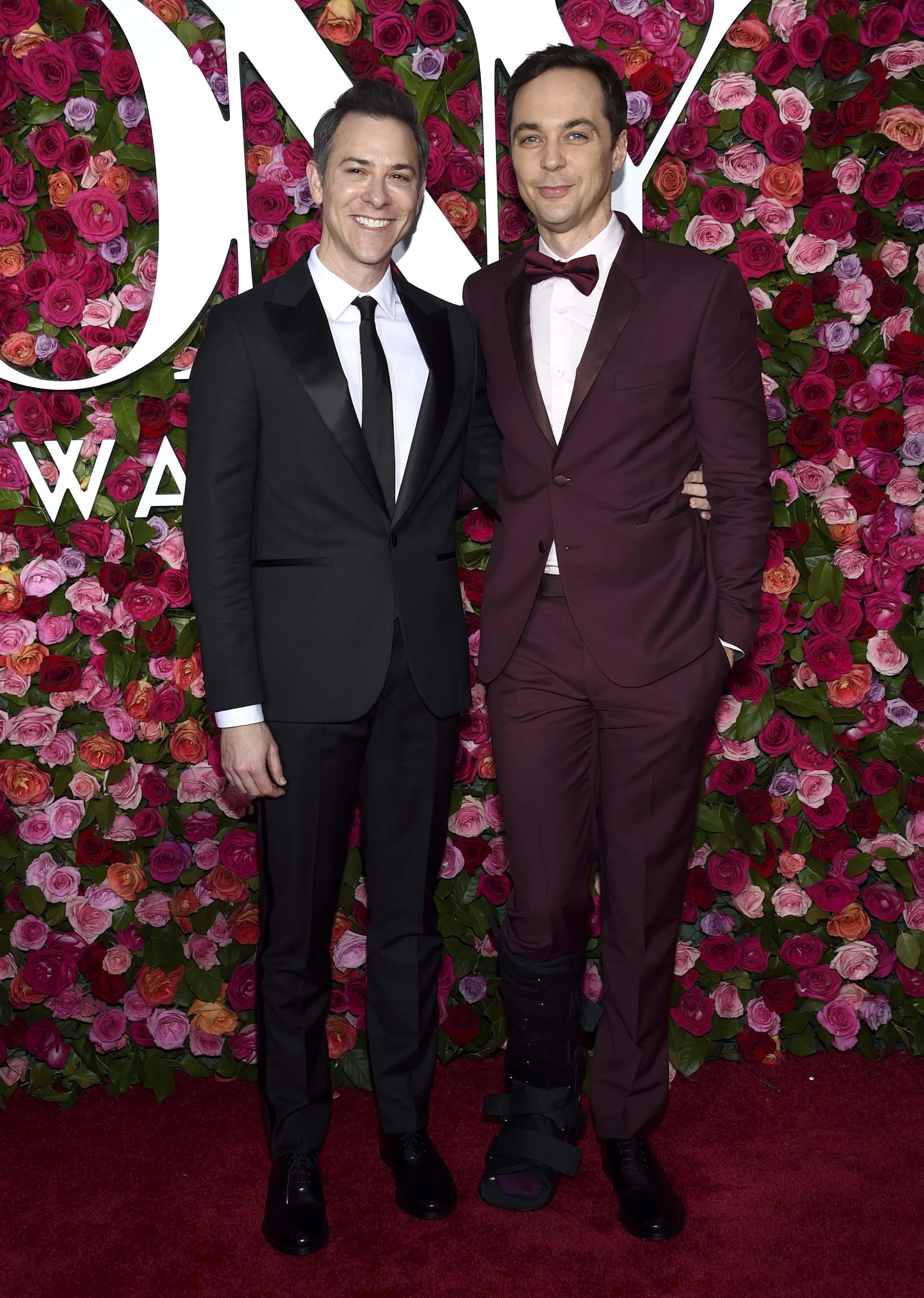 Todd Spiewak y Jim Parson (Evan Agostini/Invision/AP)