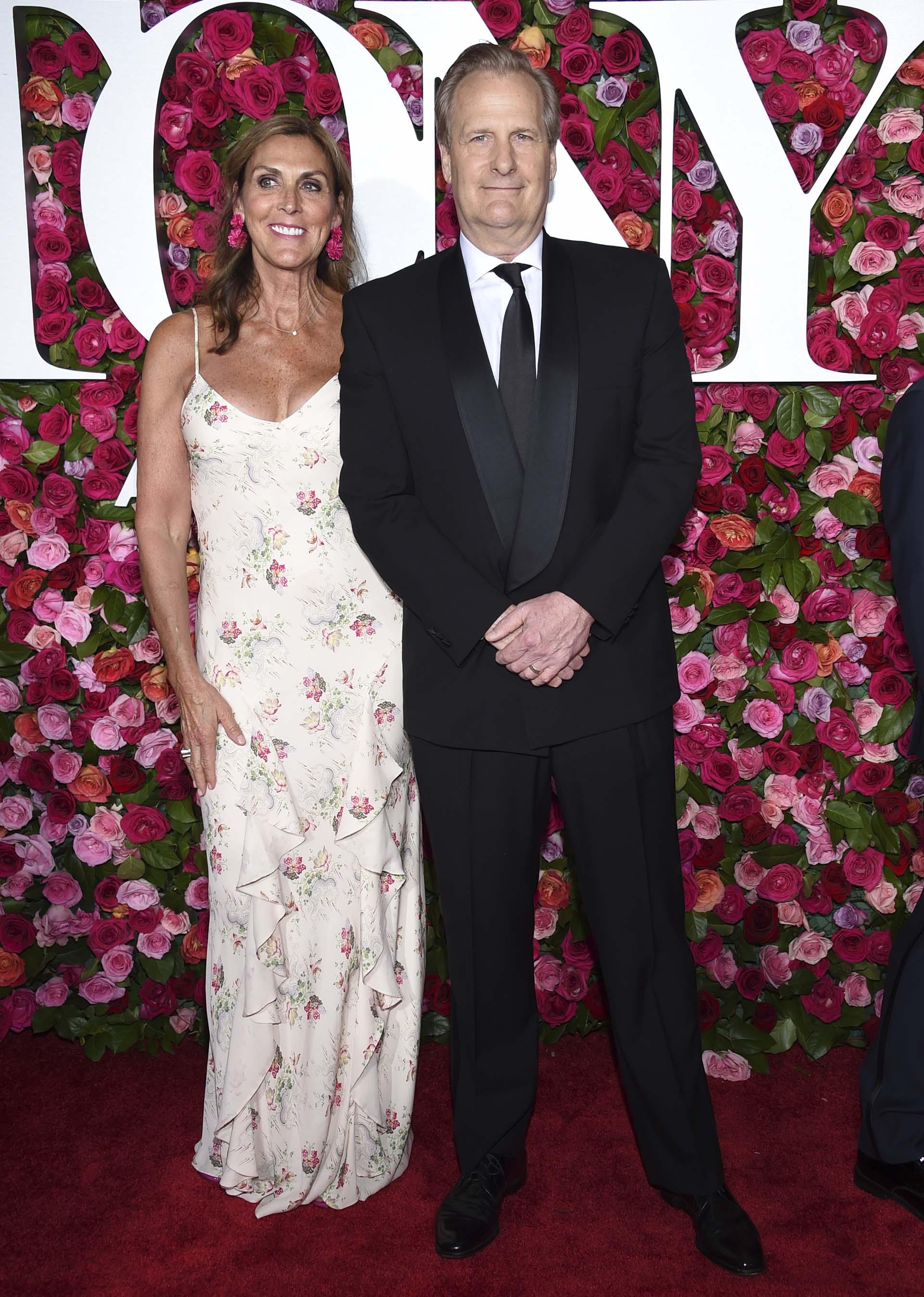 Kathleen Rosemary Treado y Jeff Daniels (Evan Agostini/Invision/AP)
