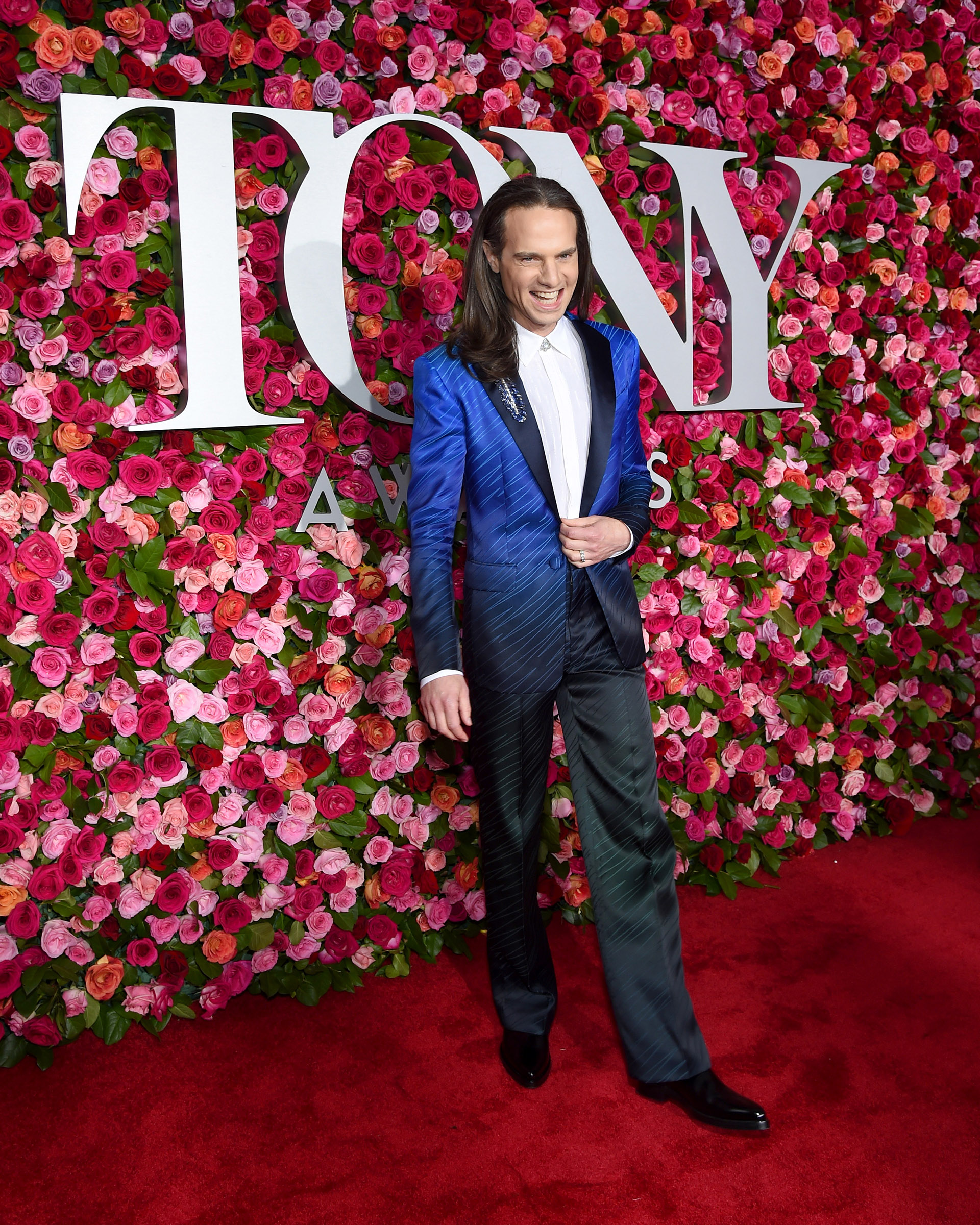 Jordan Roth (Larry Busacca/Getty Images for Tony Awards Productions /AFP)