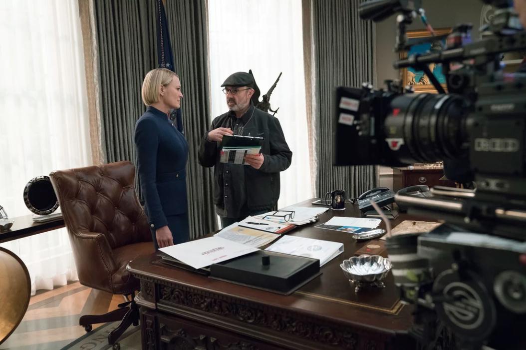 "Robin Wright en su rol de Claire Underwood en ""House of Cards"" (David Giesbrecht/Netflix)"