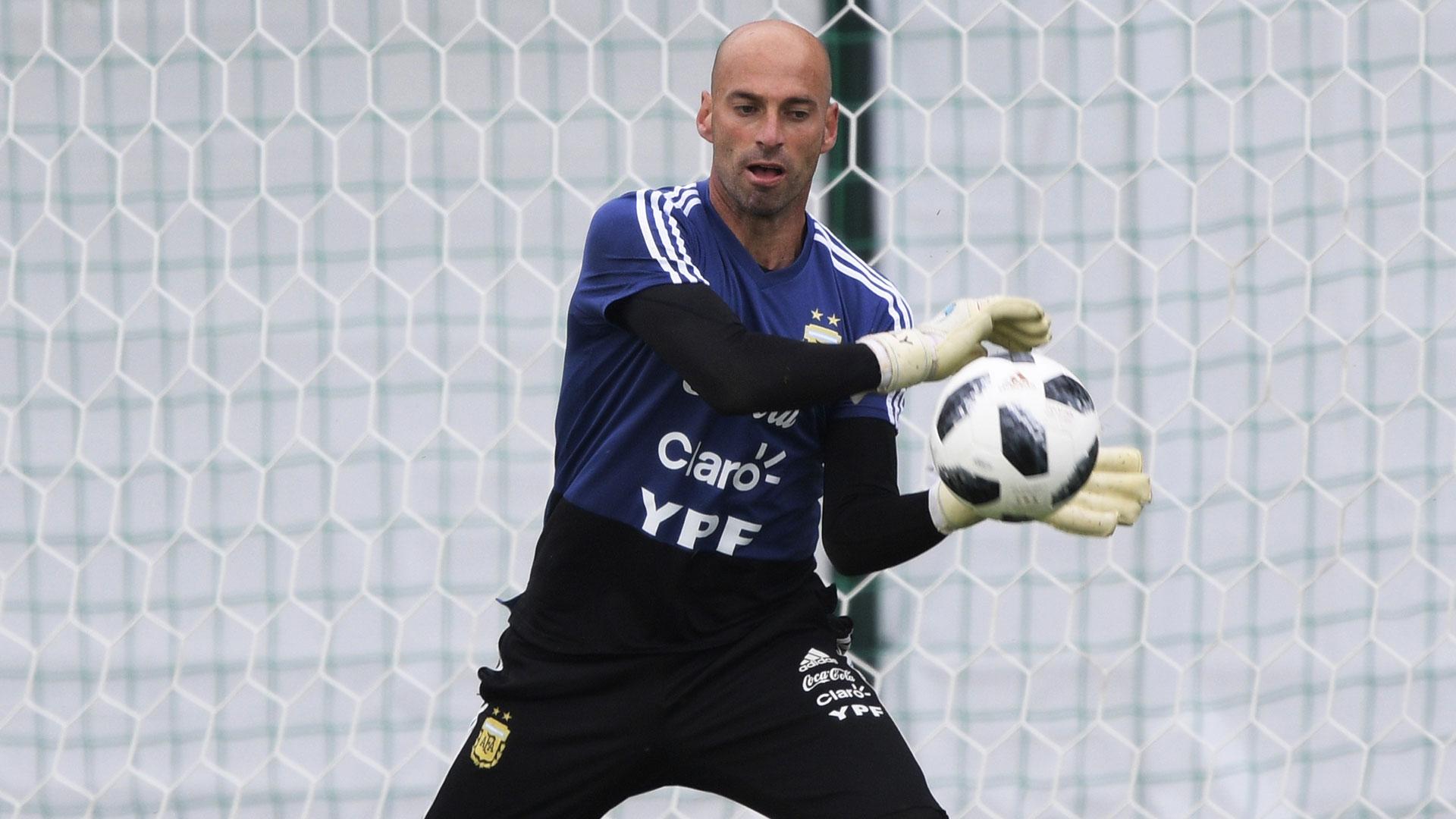 Wilfedo Caballero, quien se perfila como titular para el debut mundialista