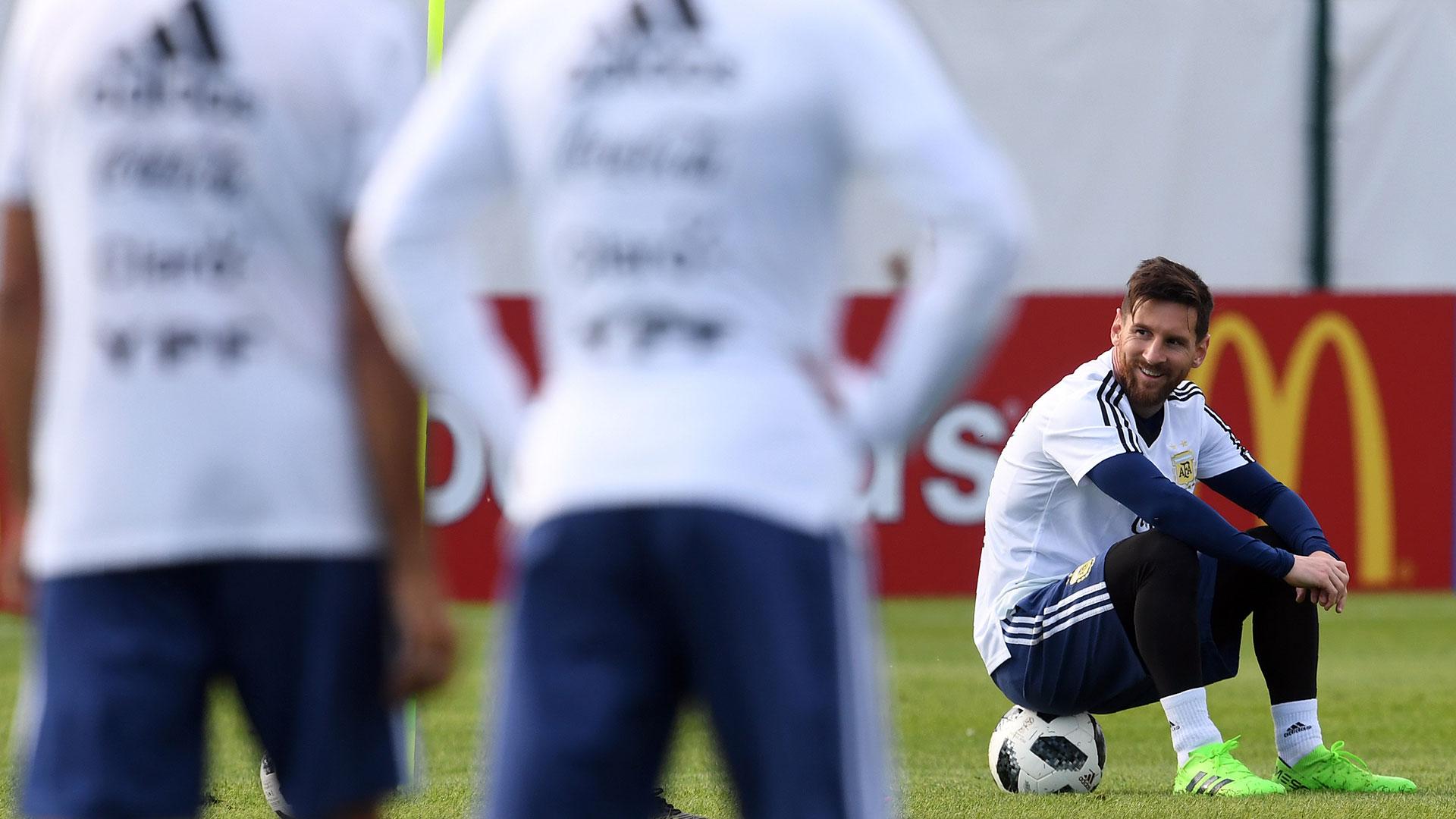 Lionel Messi, el dueño de la pelota