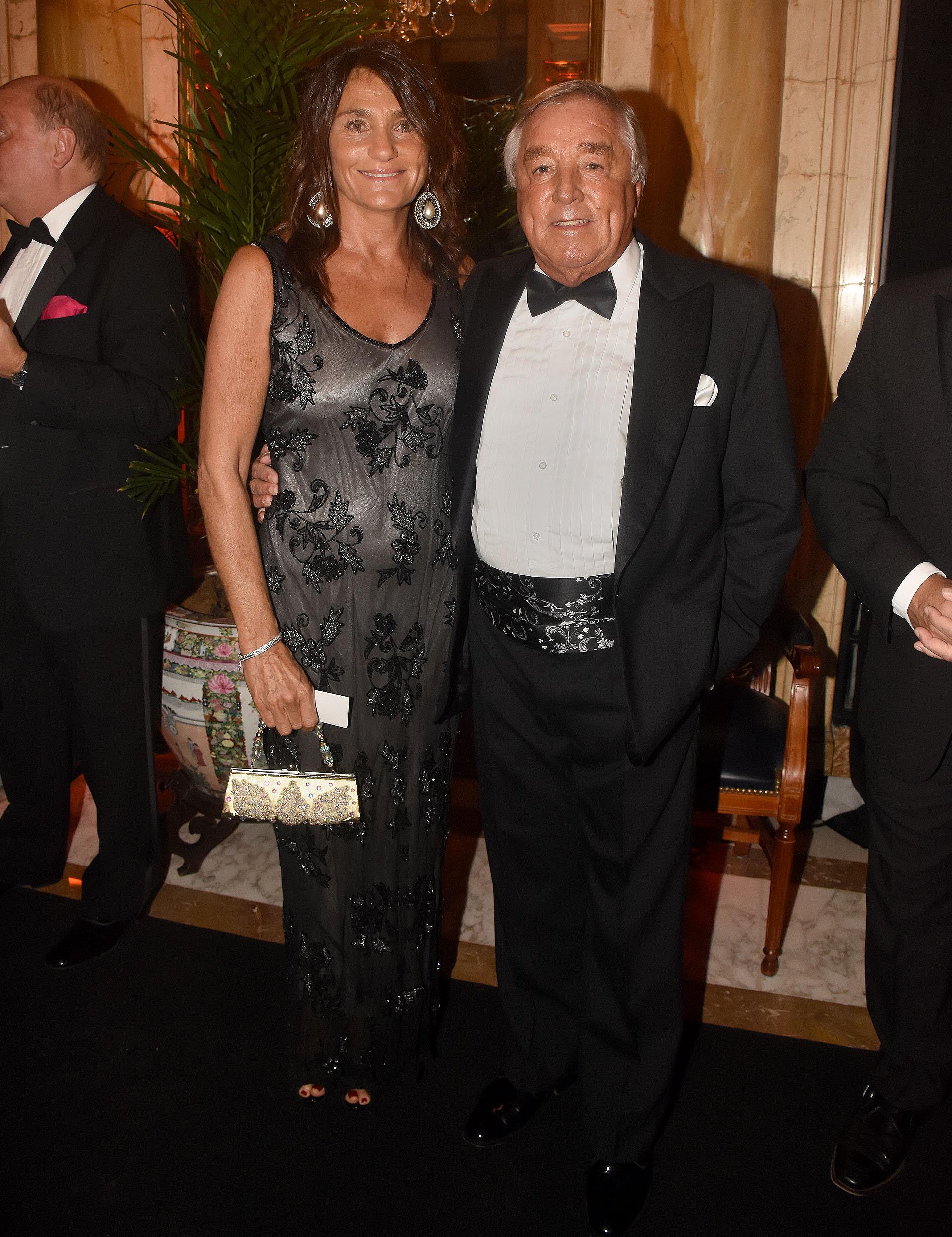 El presidente del Gruppo Modena, Julio De Marco, y su mujer Alejandra Stefani