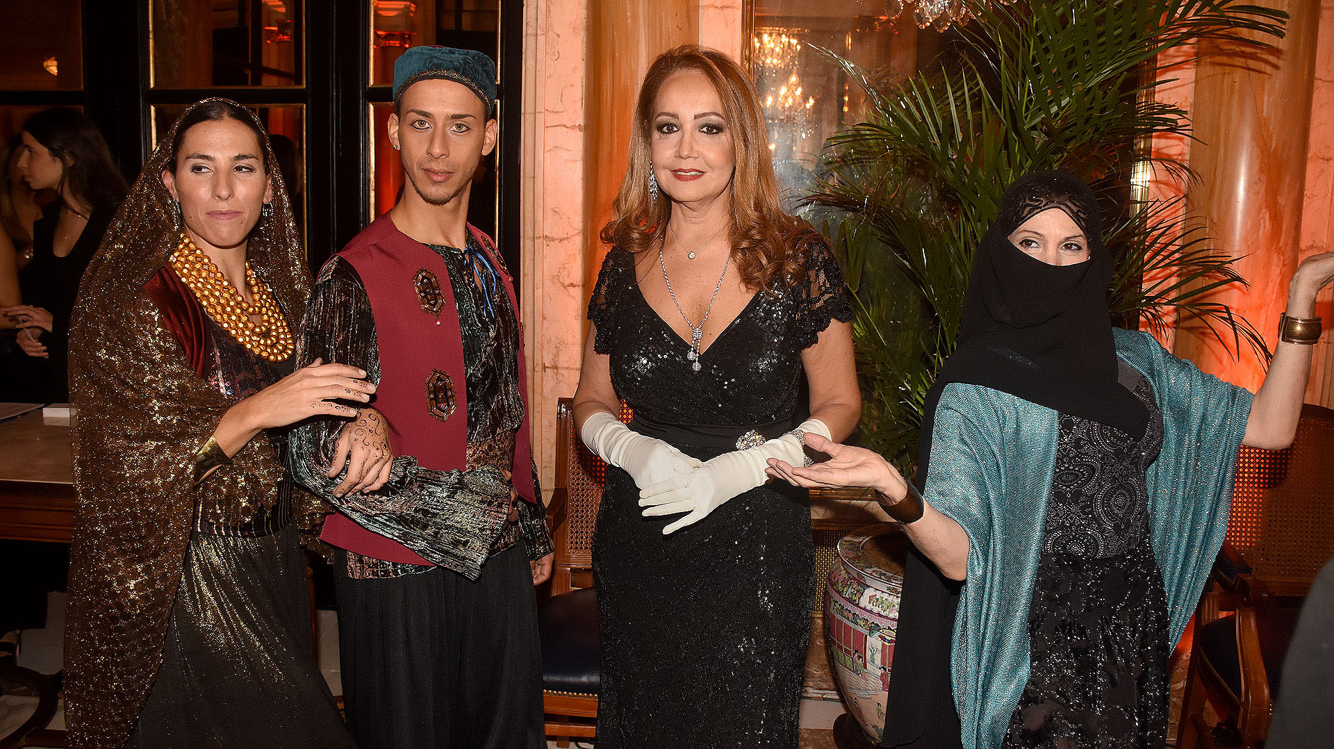 Mónica Parisier en una edición de la fabulosa gala de Make-A-Wish Argentina