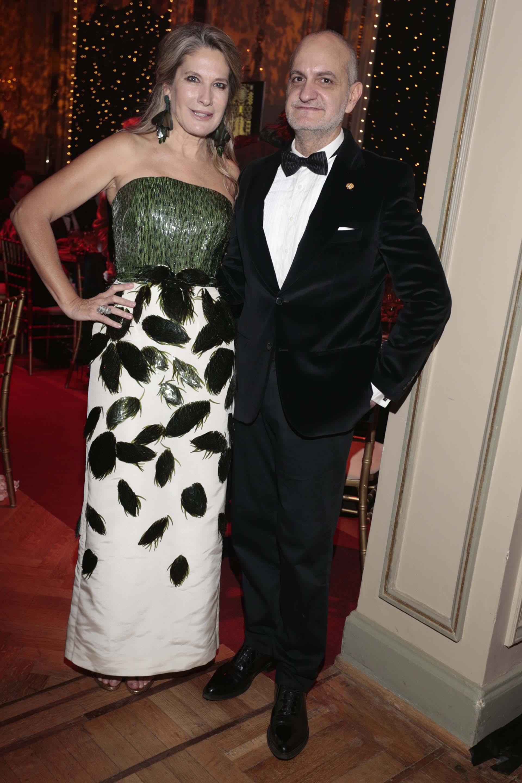 Ana Rusconi y Laurencio Adot