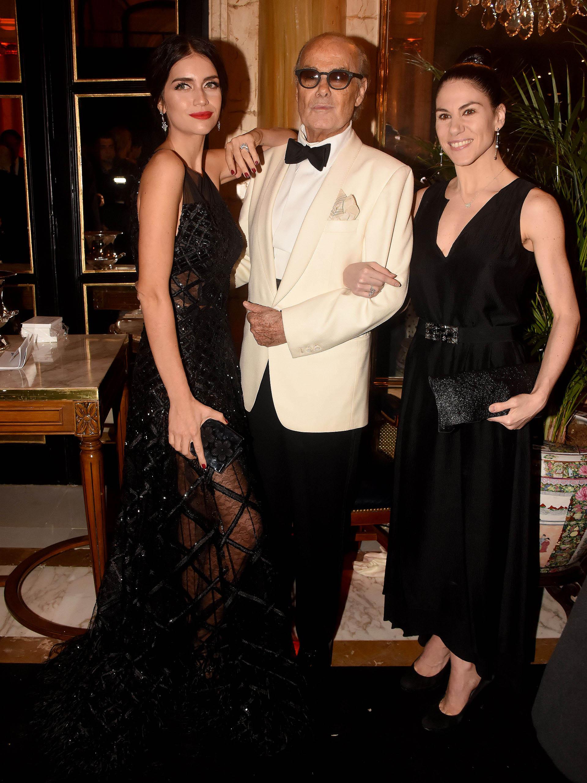 Zaira Nara, Gino Bogani y Paloma Herrera