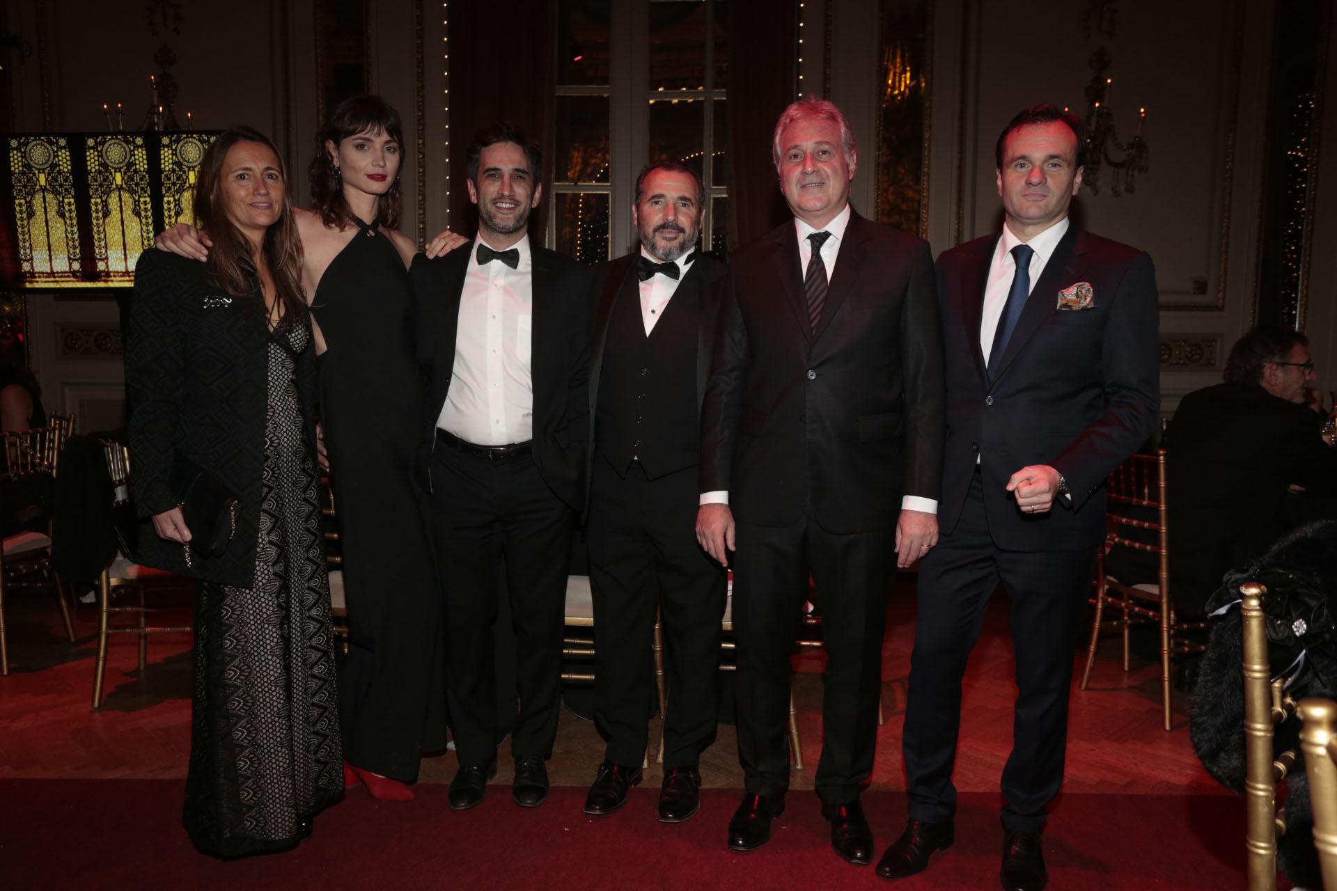 Magdalena Maglier, Patricio Di Stefano, Ezequiel Barrenechea, Matías Patanian y Juan Pablo Maglier