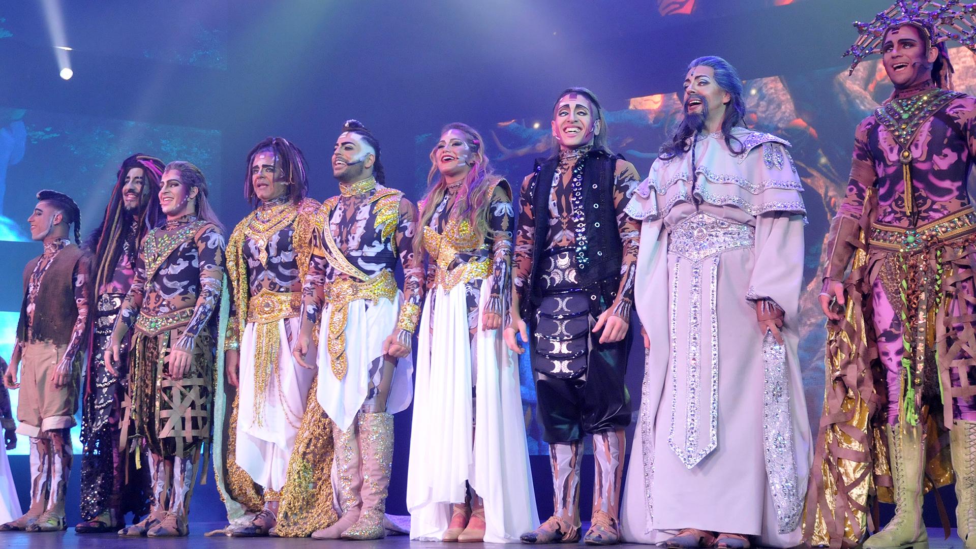 El nuevo espectáculo de Flavio Mendoza se presenta en el Teatro Broadway (Prensa Tomaselli)