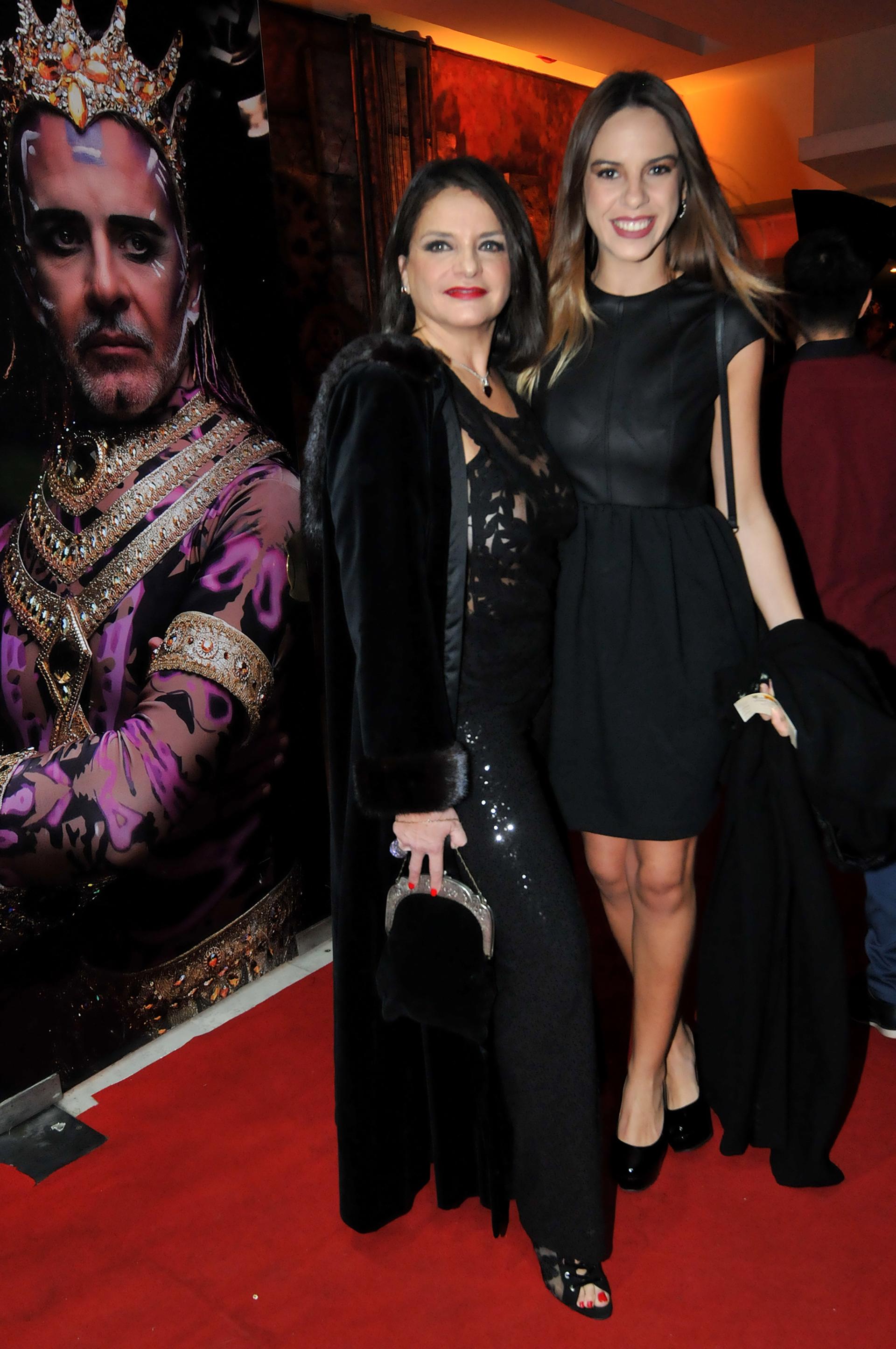 Viviana Sáez y su hija Jazmín