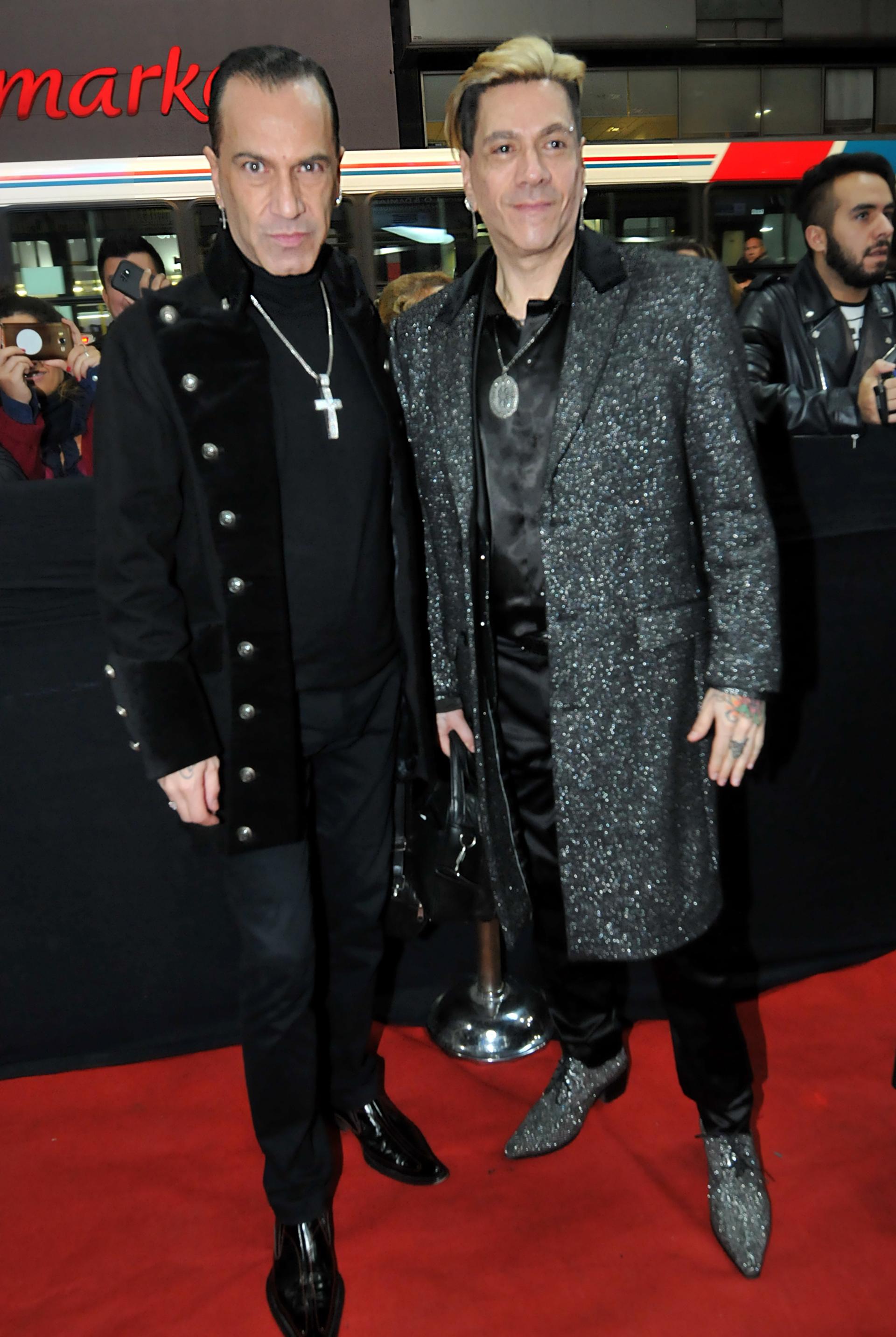 Roberto Piazza y Walter Vázquez