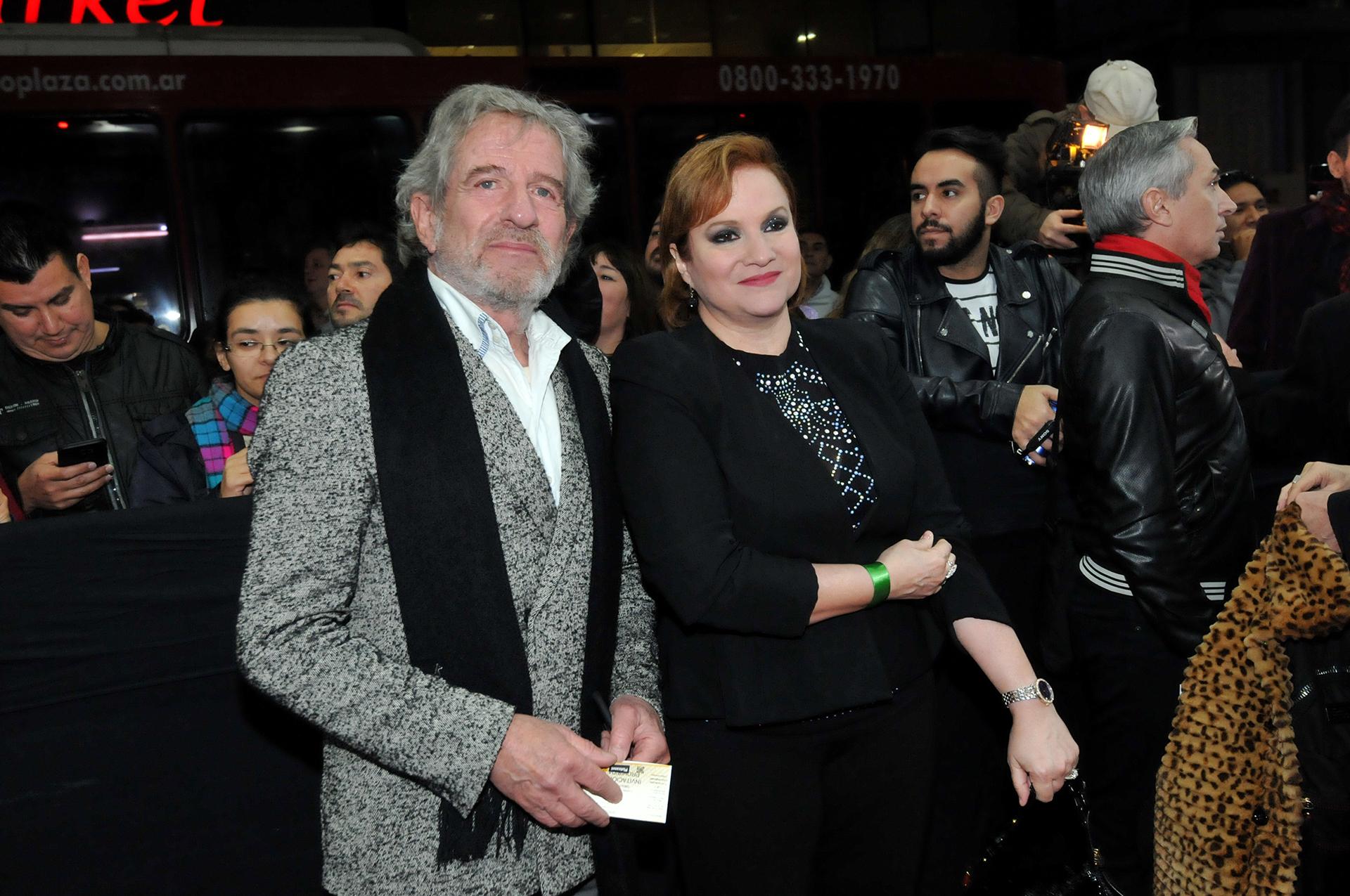 Lucía Galán y Pablo Alarcón
