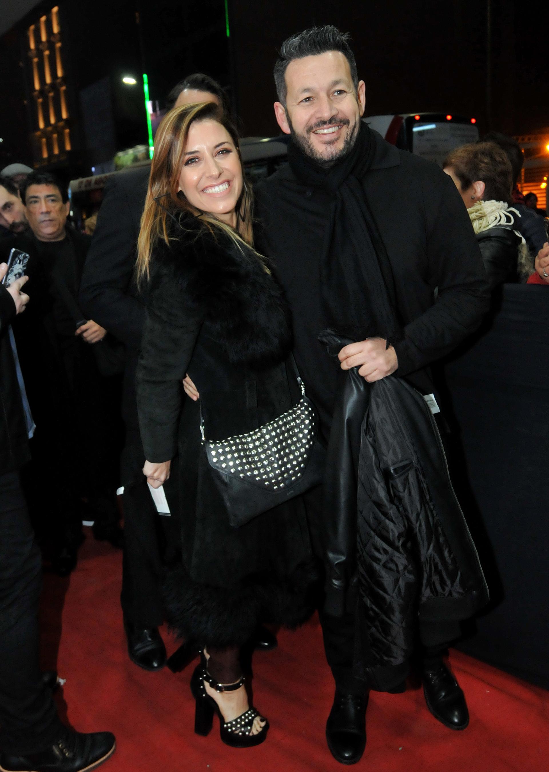 Mariana Brey y su novio Pablo Melillo