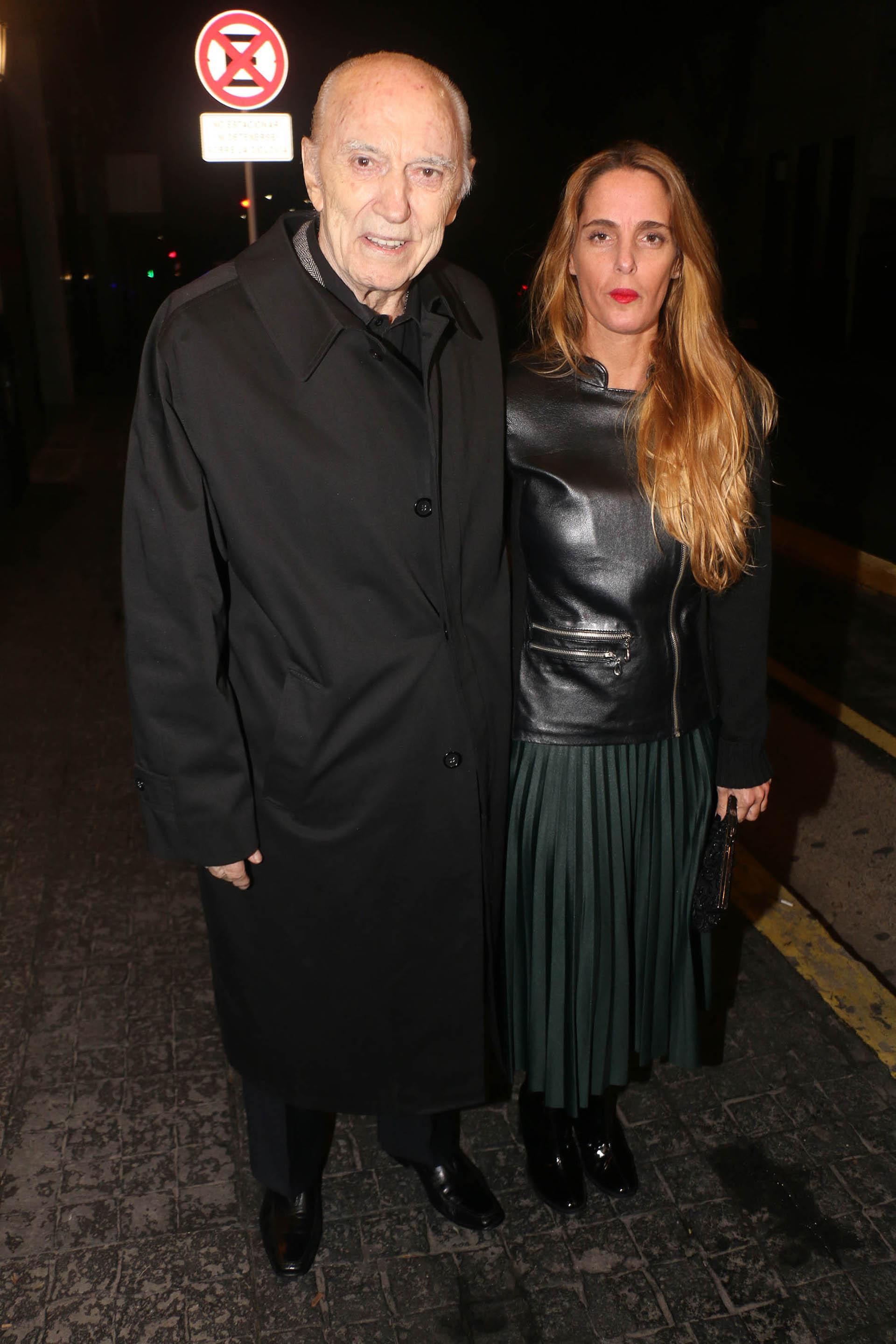Cacho Fontana y su hija Antonella