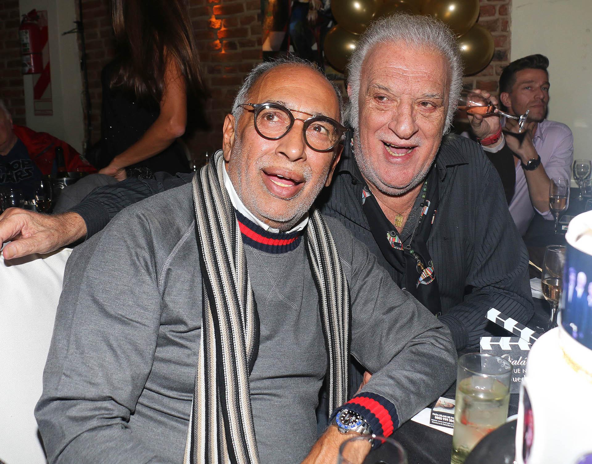 Oscar González Oro y Coco Basile