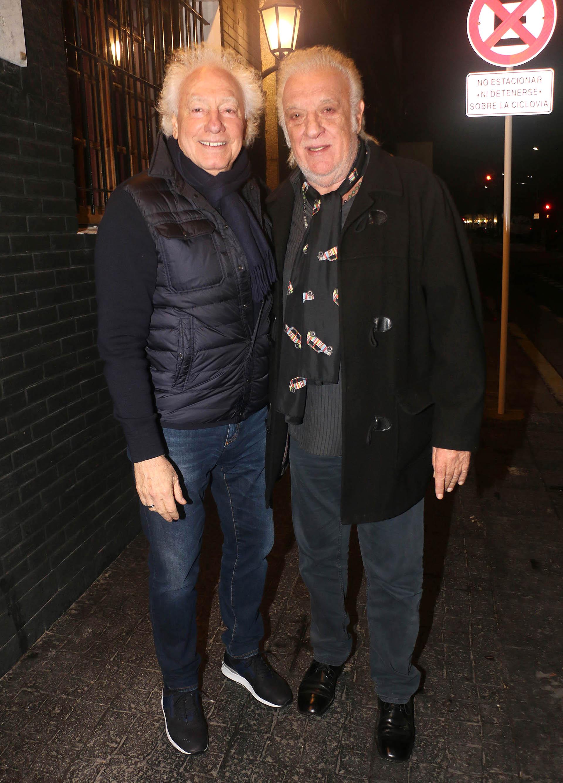 Guillermo Coppola y Coco Basile
