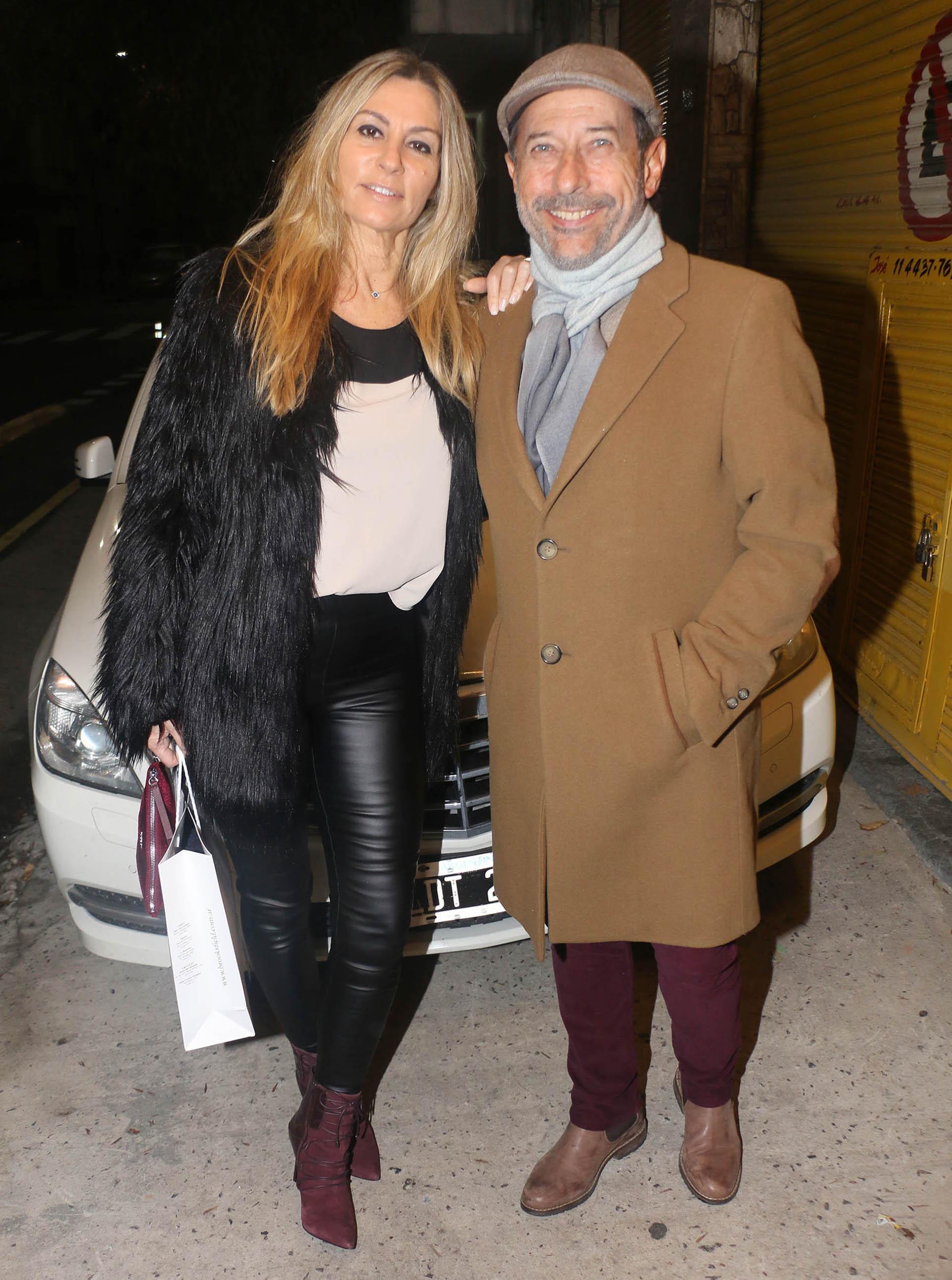 Guillermo Francella y su esposa Marynés Breña (Verónica Guerman / Teleshow)