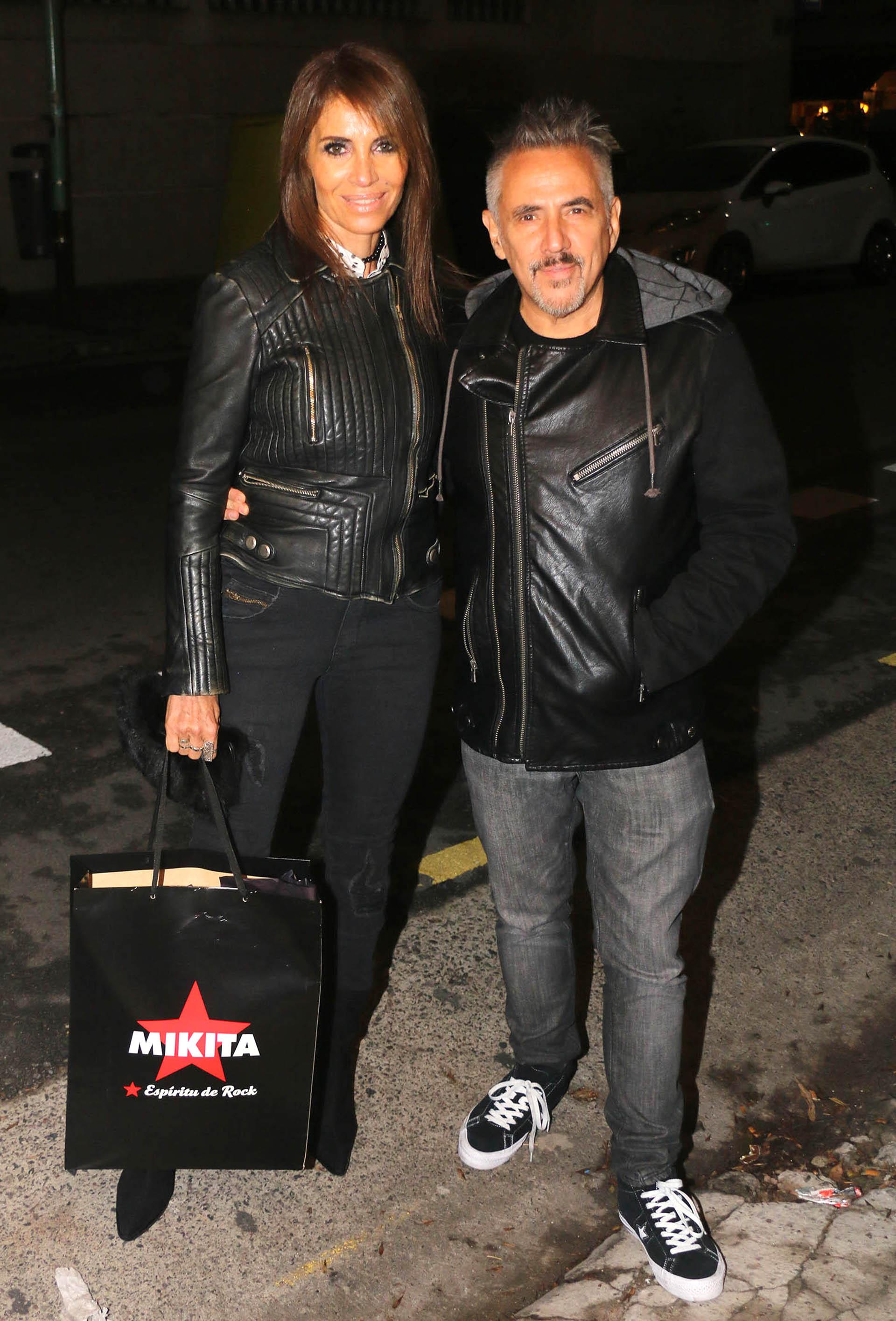Alejandro Lerner y su mujer Marcela García Ibañez
