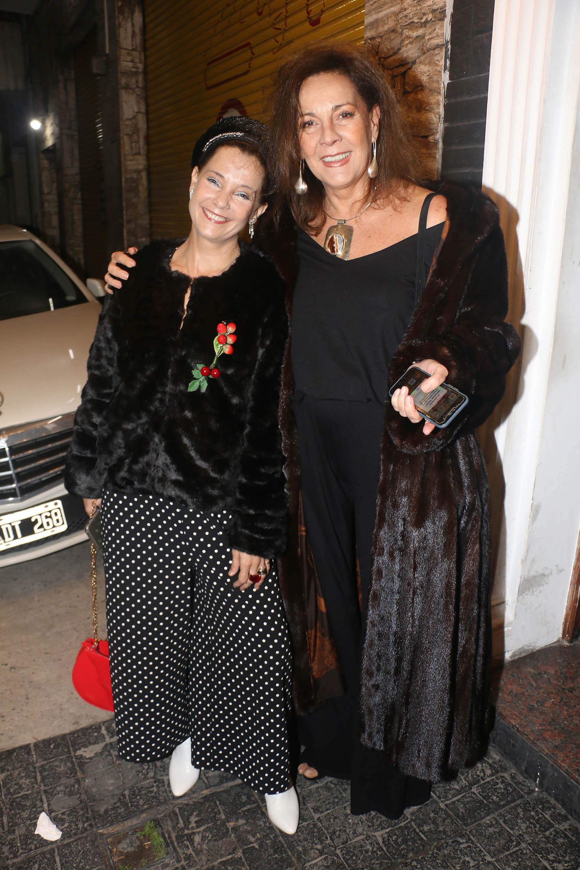 Mónica Gonzaga y Marikena Riera (Verónica Guerman / Teleshow)