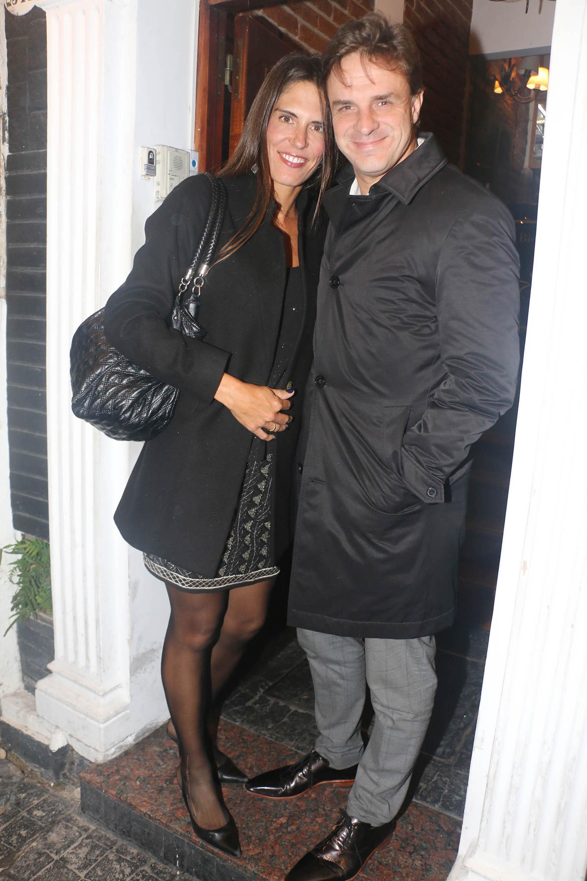 Avelino Tamargo y su mujer