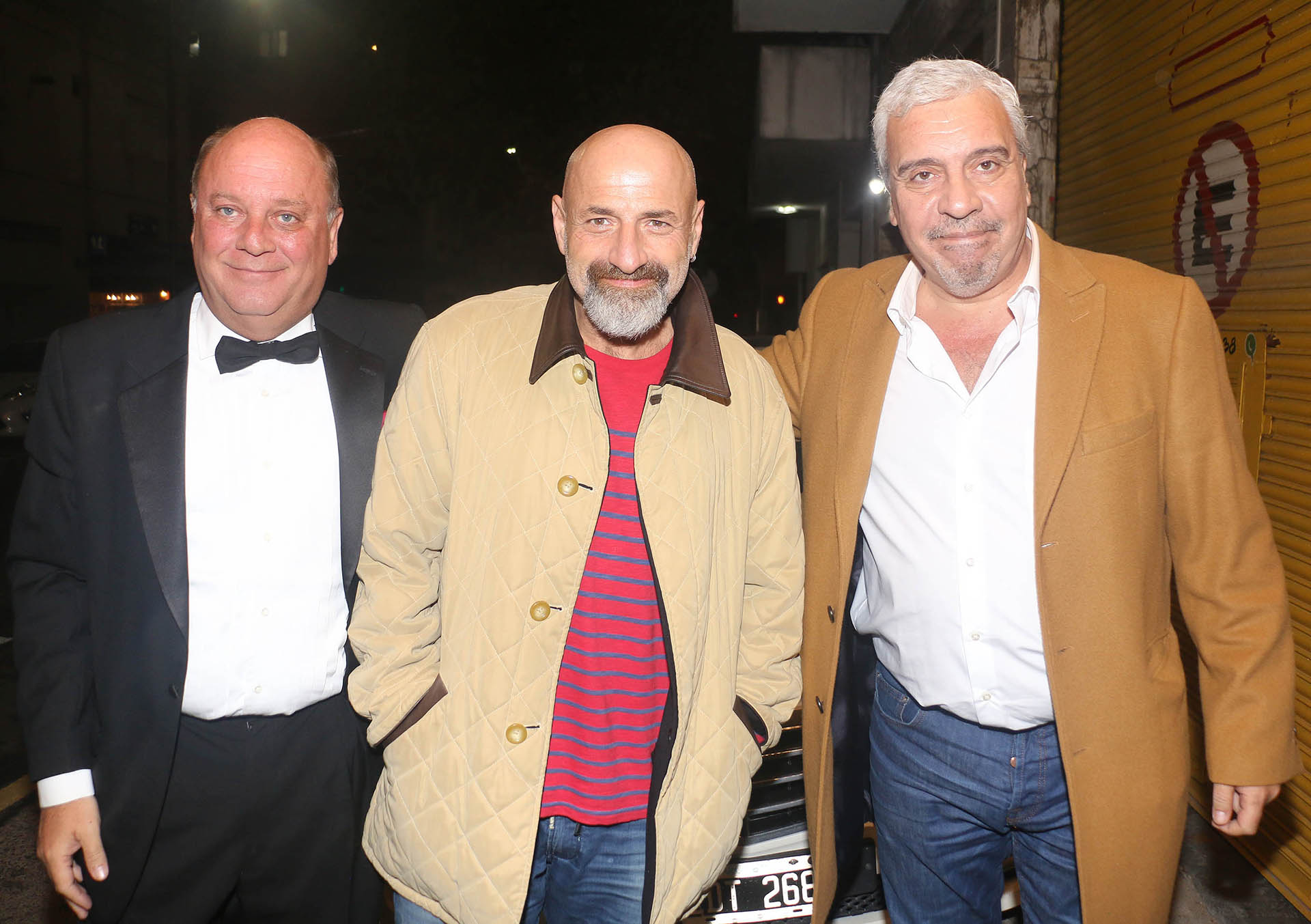 Martín Cabrales, Gustavo Sofovich y Coco Sily