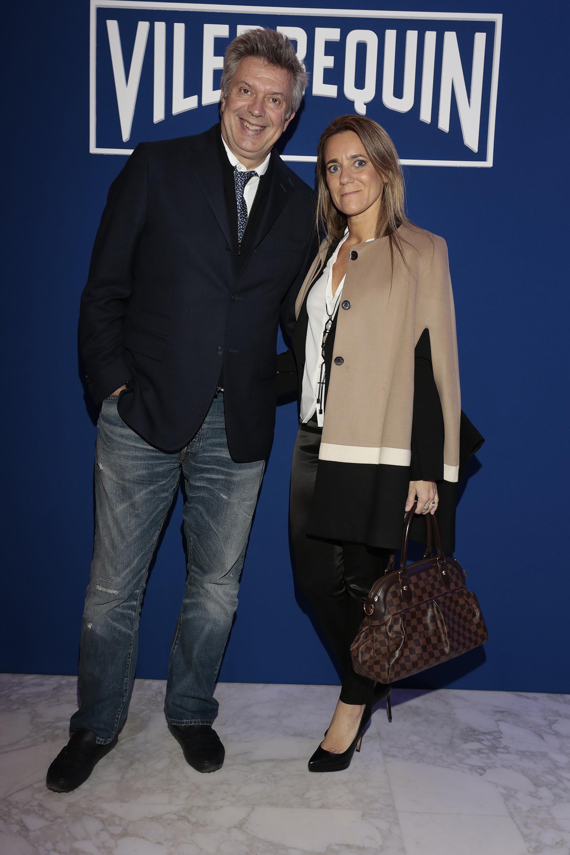 Mauricio D'Alessandro y Mariana Gallego