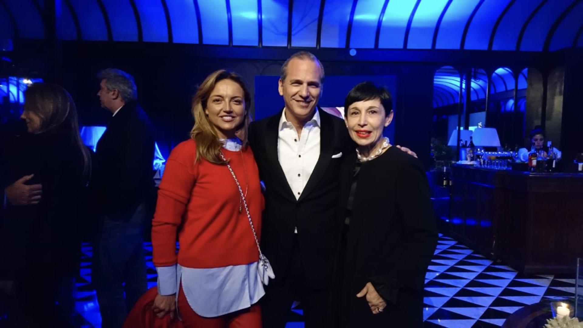 Pamela Saguier, Javier Iturrioz y Ana Torrejón
