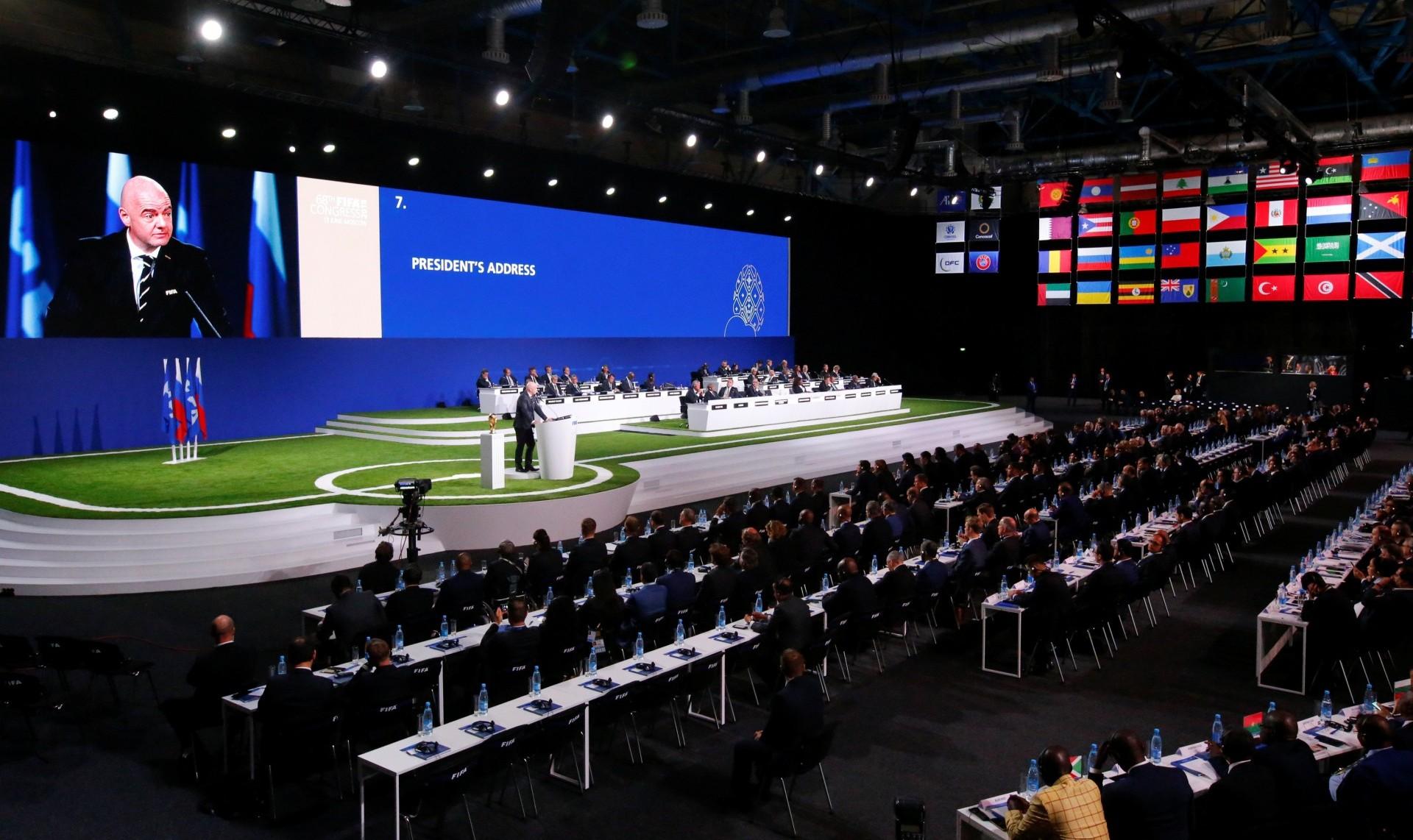 El 68º Congreso de la FIFA (Reuters)