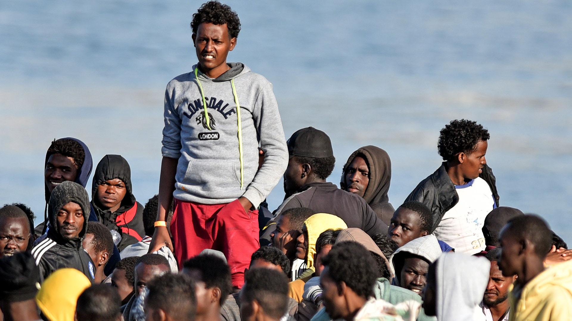 La mayoría de los migrantes que llegan a Europa huyen de las guerras (AFP)