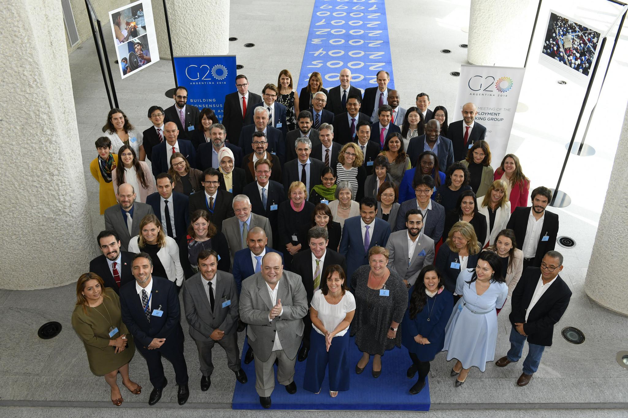 El C20 presentó sus recomendaciones durante la reuniónd e trabajo del Grupo de Empleo del G20