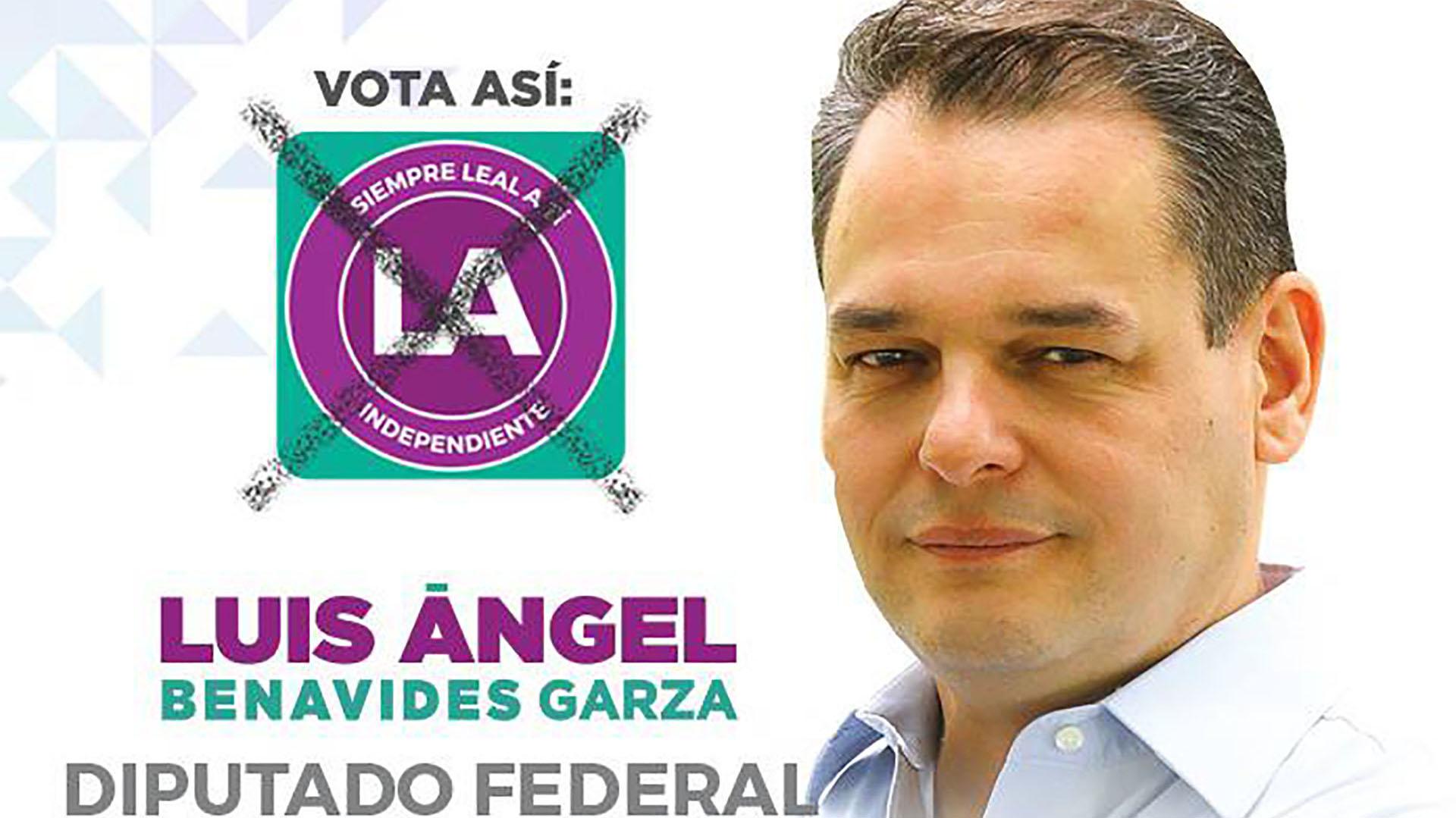 El candidato aspira a llegar a la Cámara de Diputados para proponer cambios a la ley.