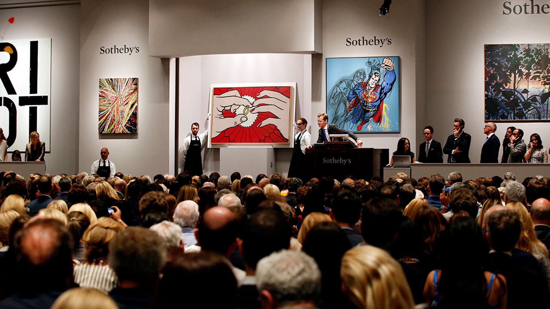 Sotheby's es una casa de subastas, mayoritariamente de obras de arte y demás objetos coleccionables, fundada en el Reino Unido