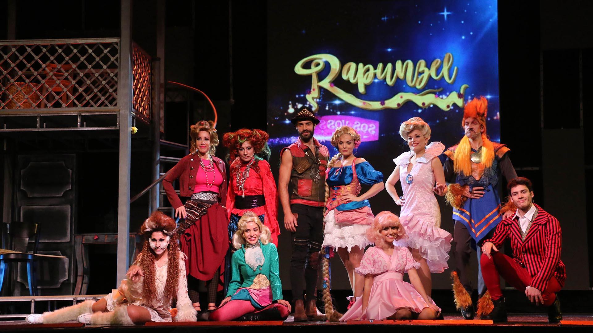 """Musical """"Rapunzel, el sueño sos vos"""" (Crédito: Verónica Guerman / Teleshow)"""