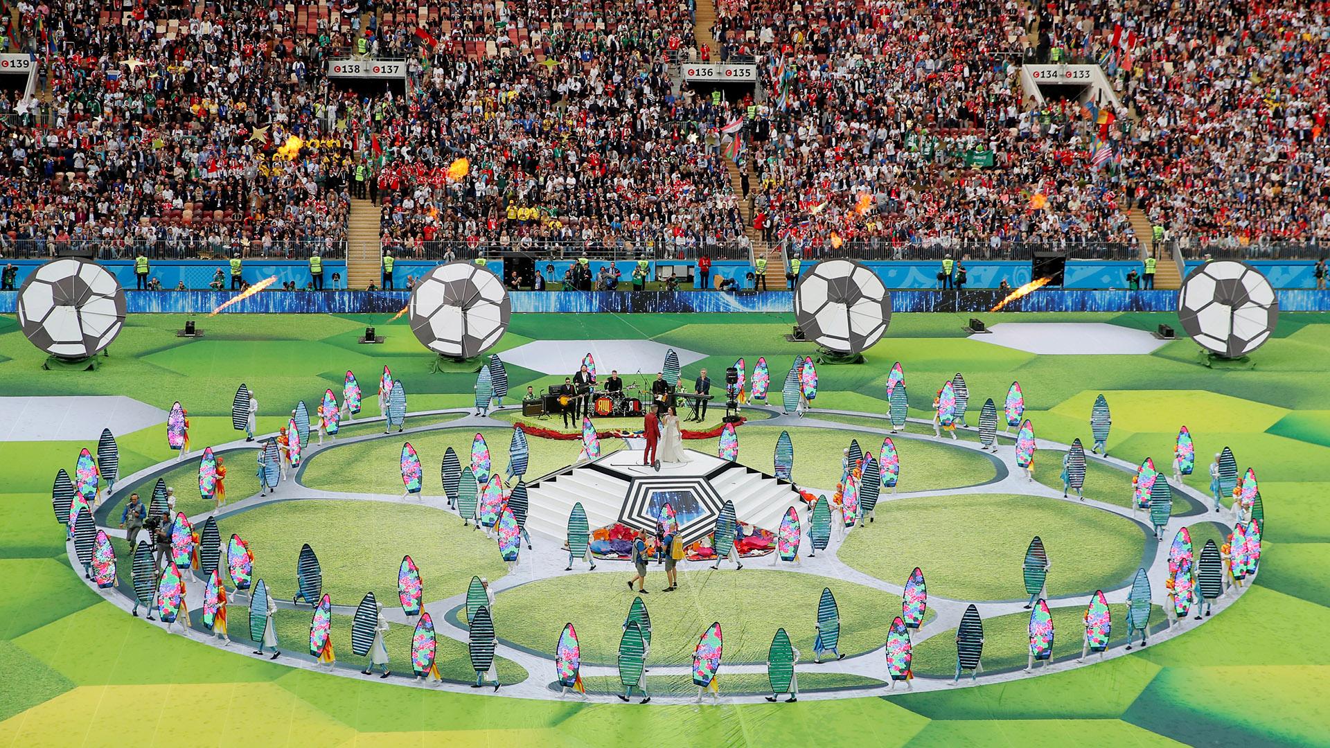 El Estadio Olímpico Luznhiki tiene como fecha apertura el 31 julio 1956 y sufrió dos remodelaciones: en 1997 y en el período 2014-2017, de cara a la cita mundialista (REUTERS/Maxim Shemetov)