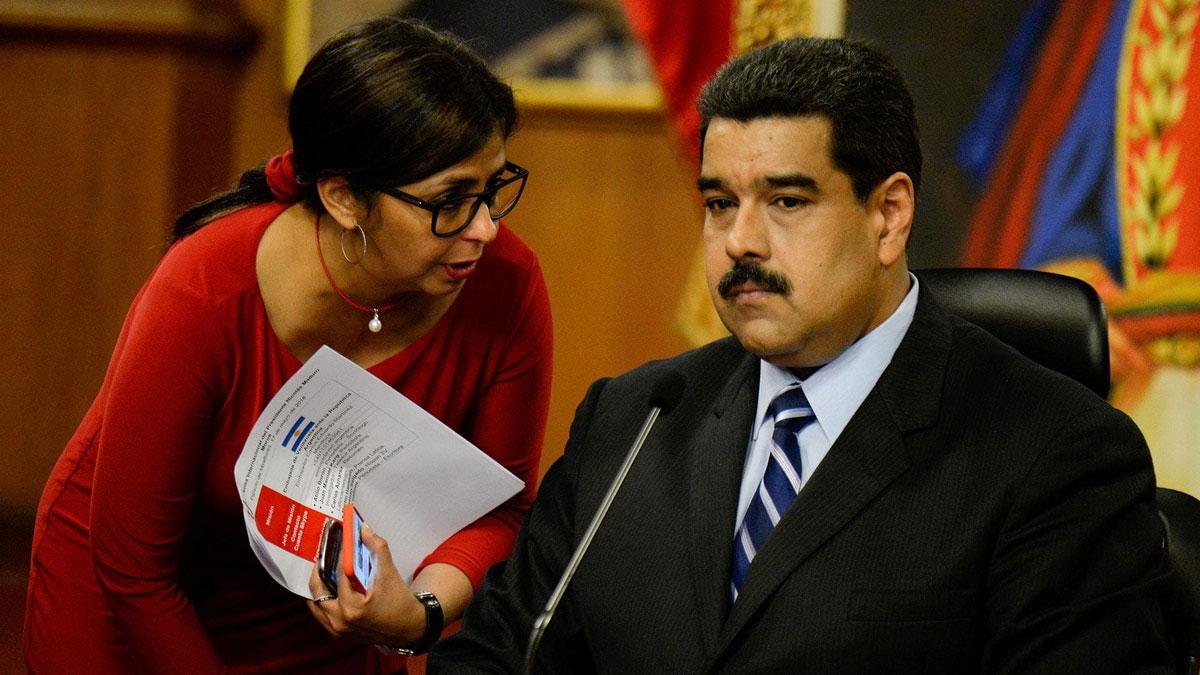 Delcy Rodríguez, vicepresidente de Venezuela