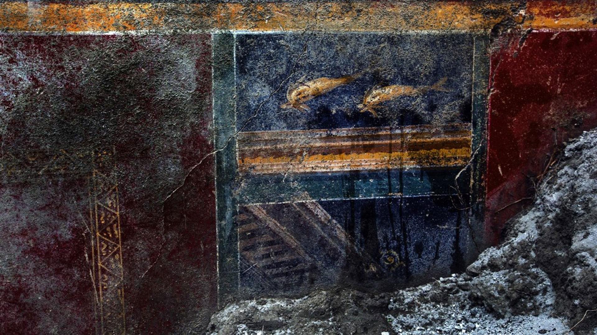 Diversos frescos hallados en los últimos meses