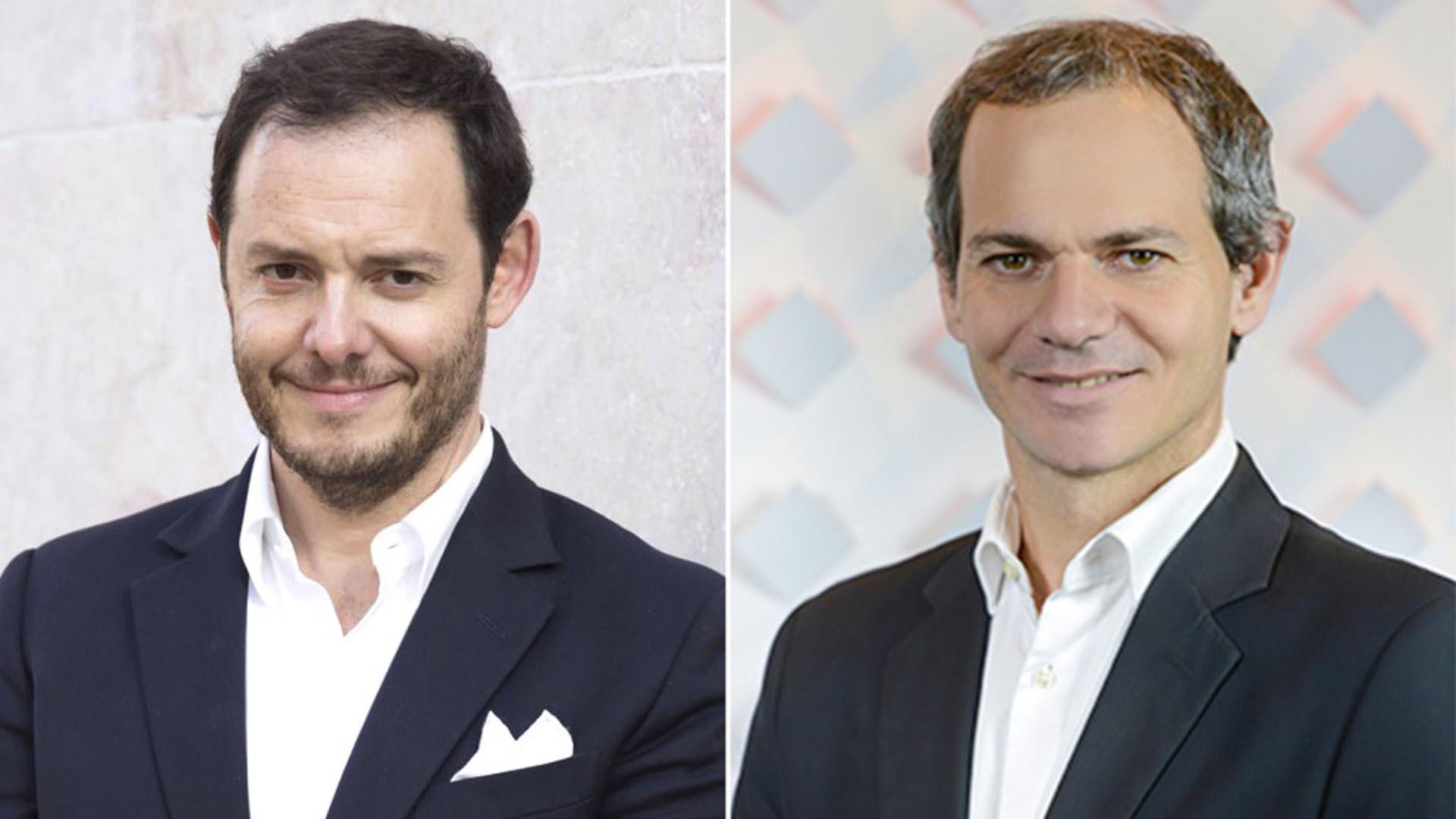 Demian Reidel y Lucas Llach