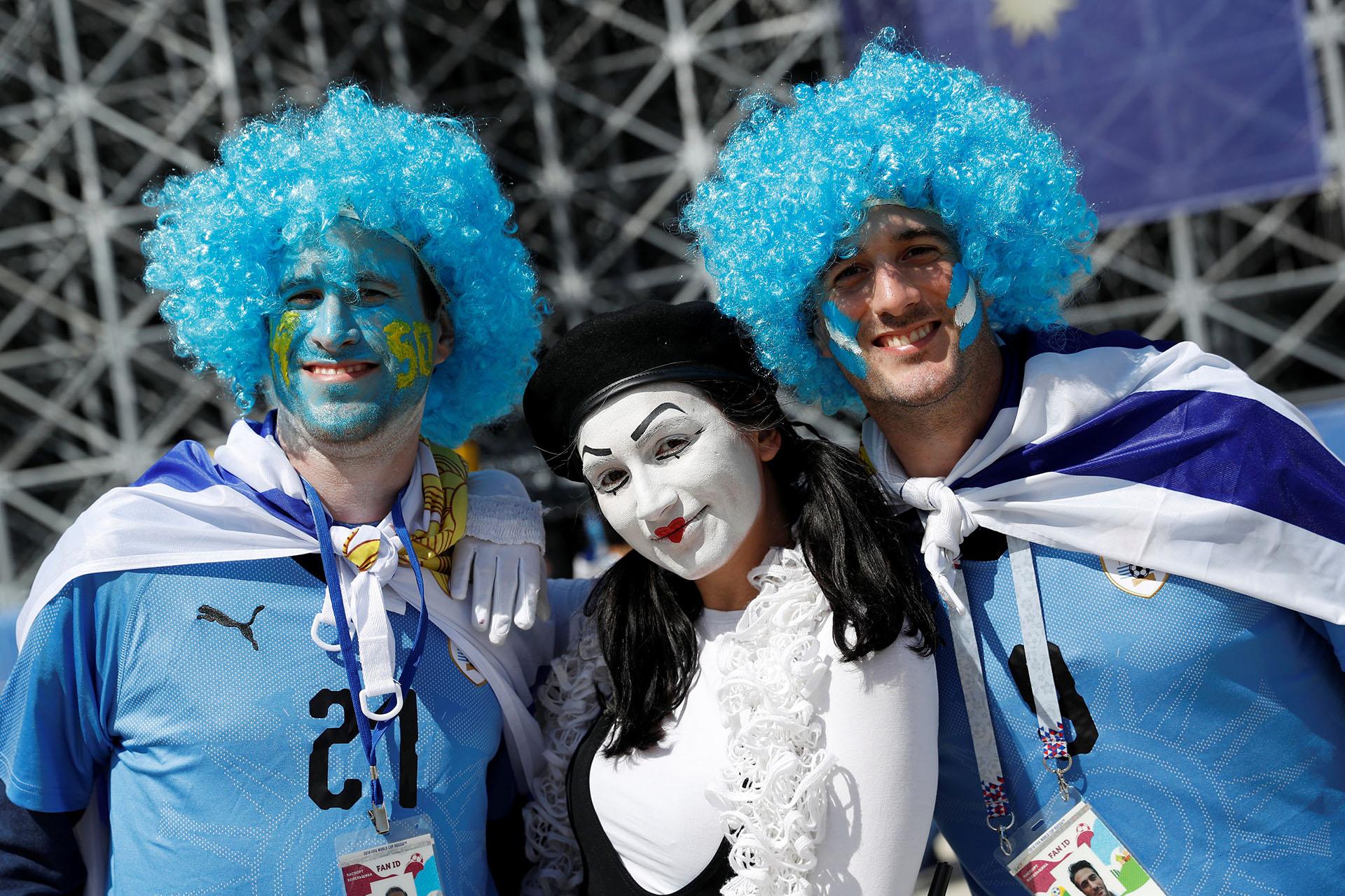Los uruguayos confían en el equipo de Óscar Tabarez
