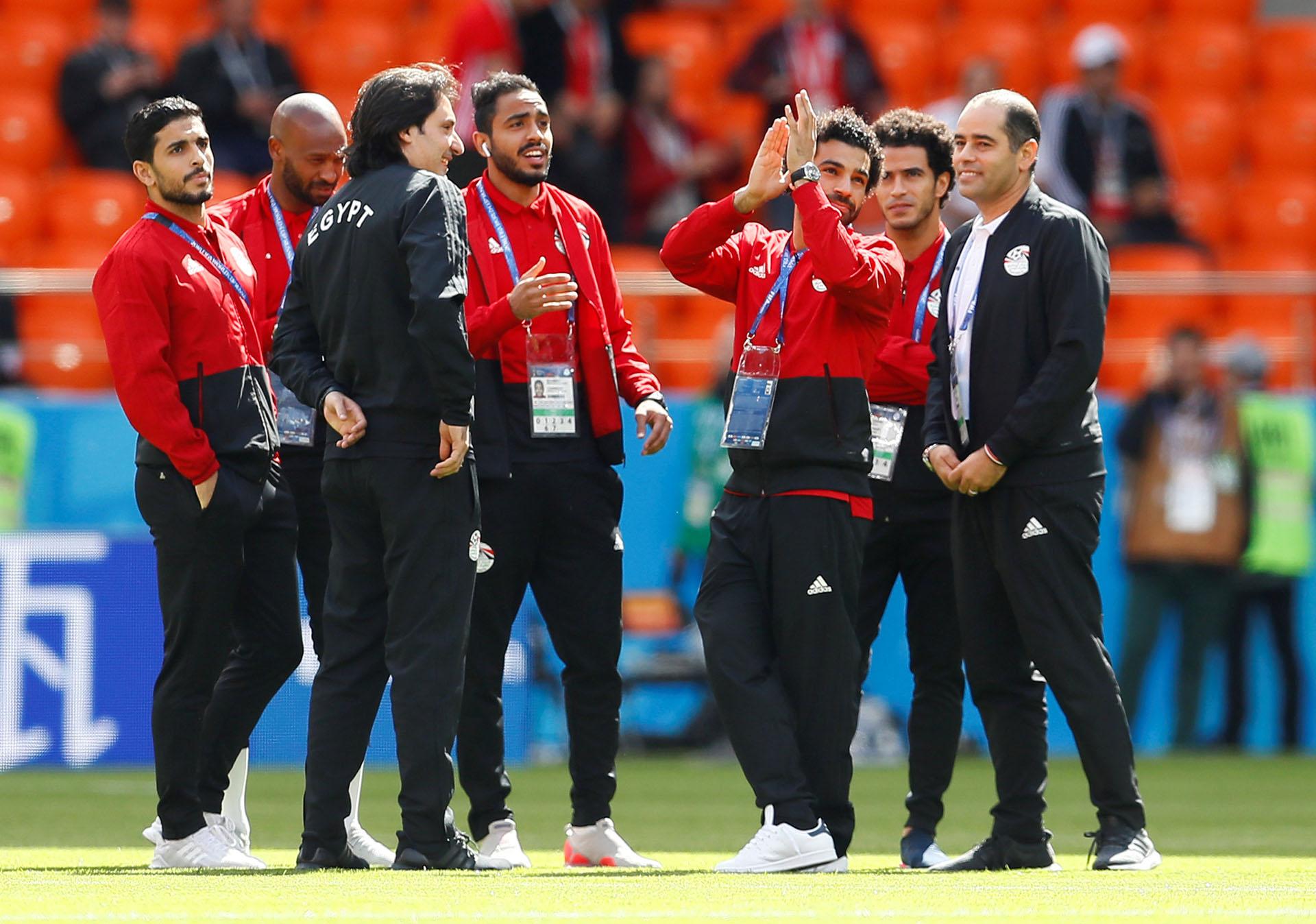 Mohamed Salah no fue titular en el equipo de Cúper