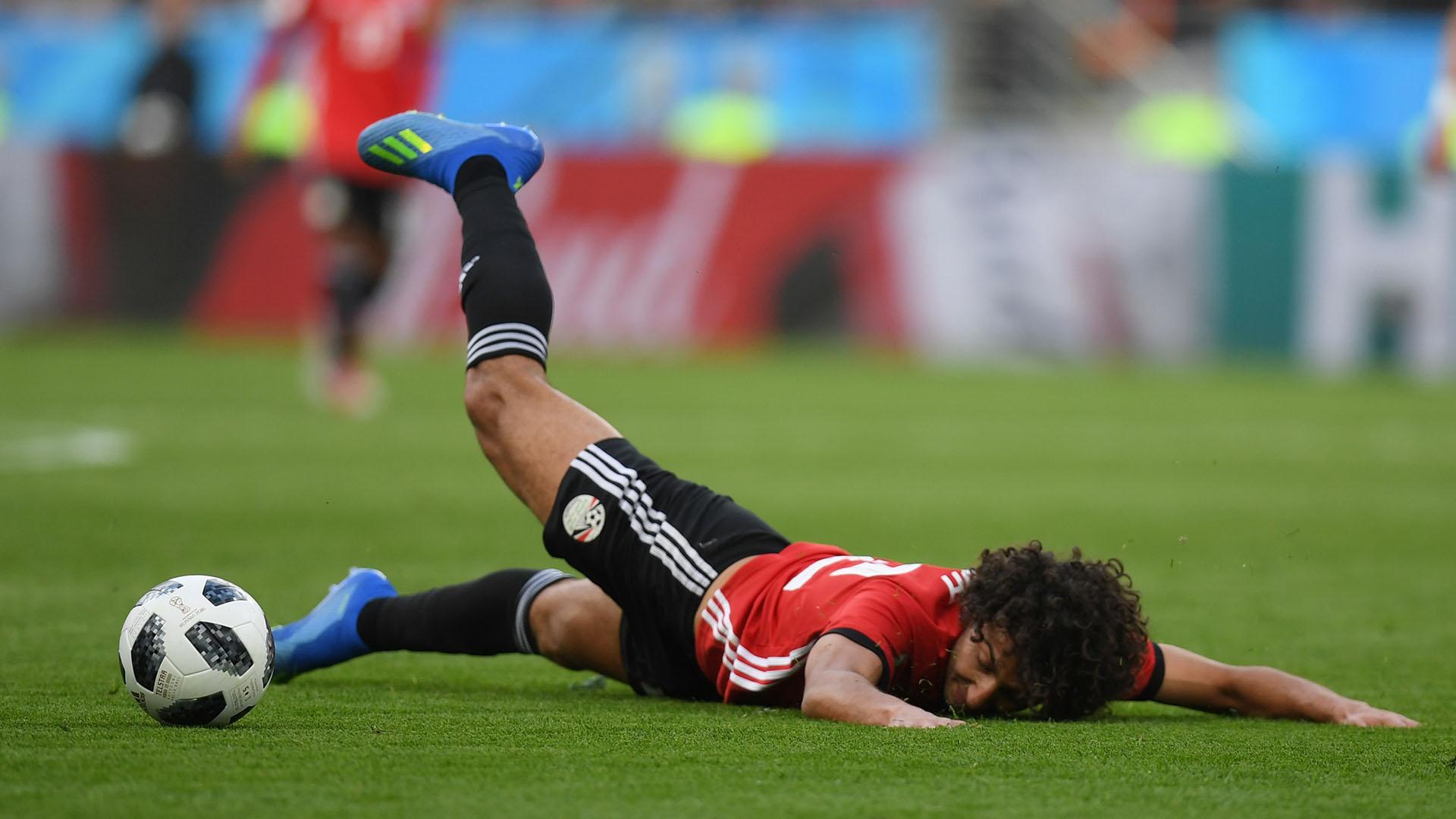 Sin Mohamed Salah en cancha, el equipo de Cúper perdió calidad en ataque