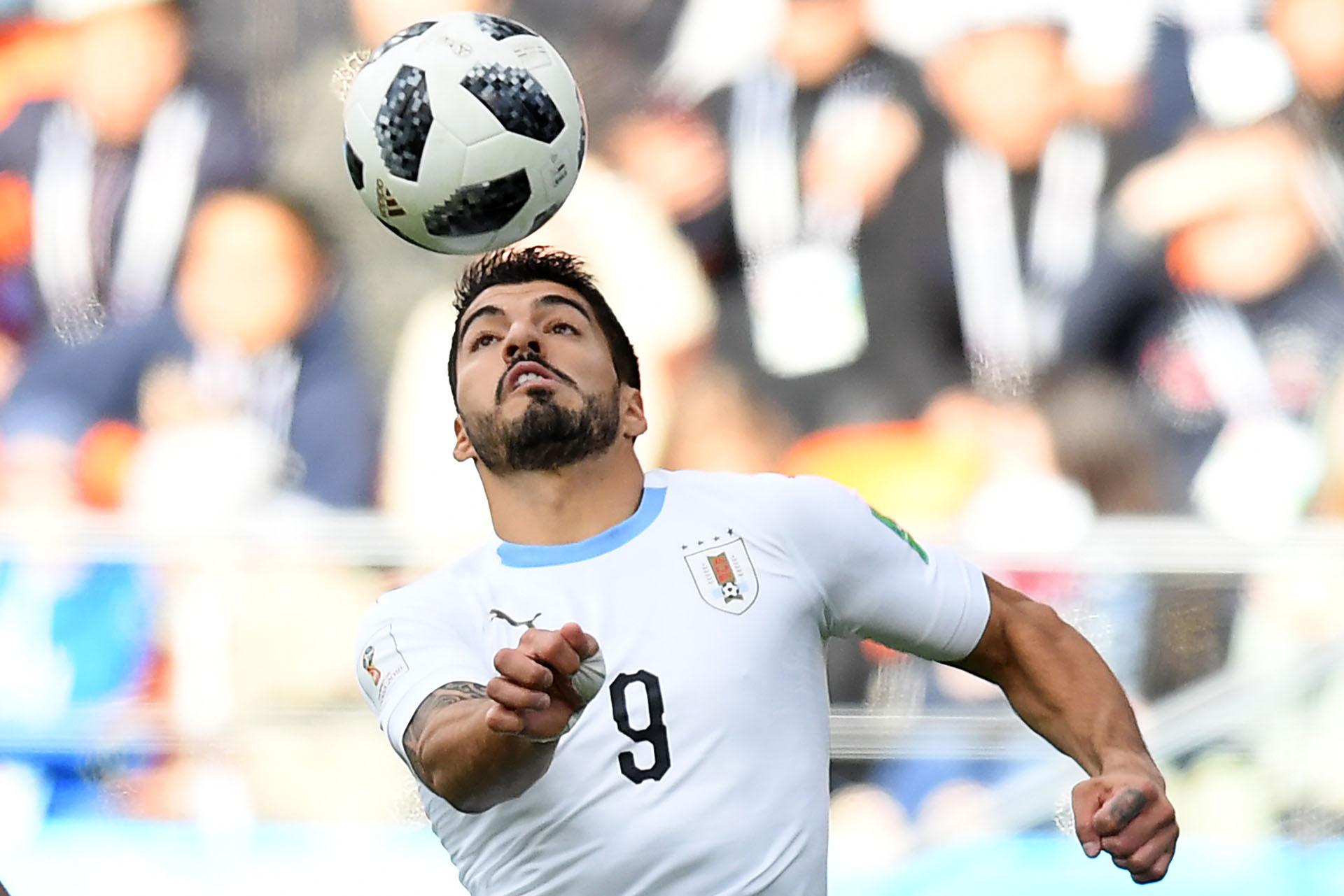 Luis Suárez no pudo convertir en el debut de Uruguay en Rusia