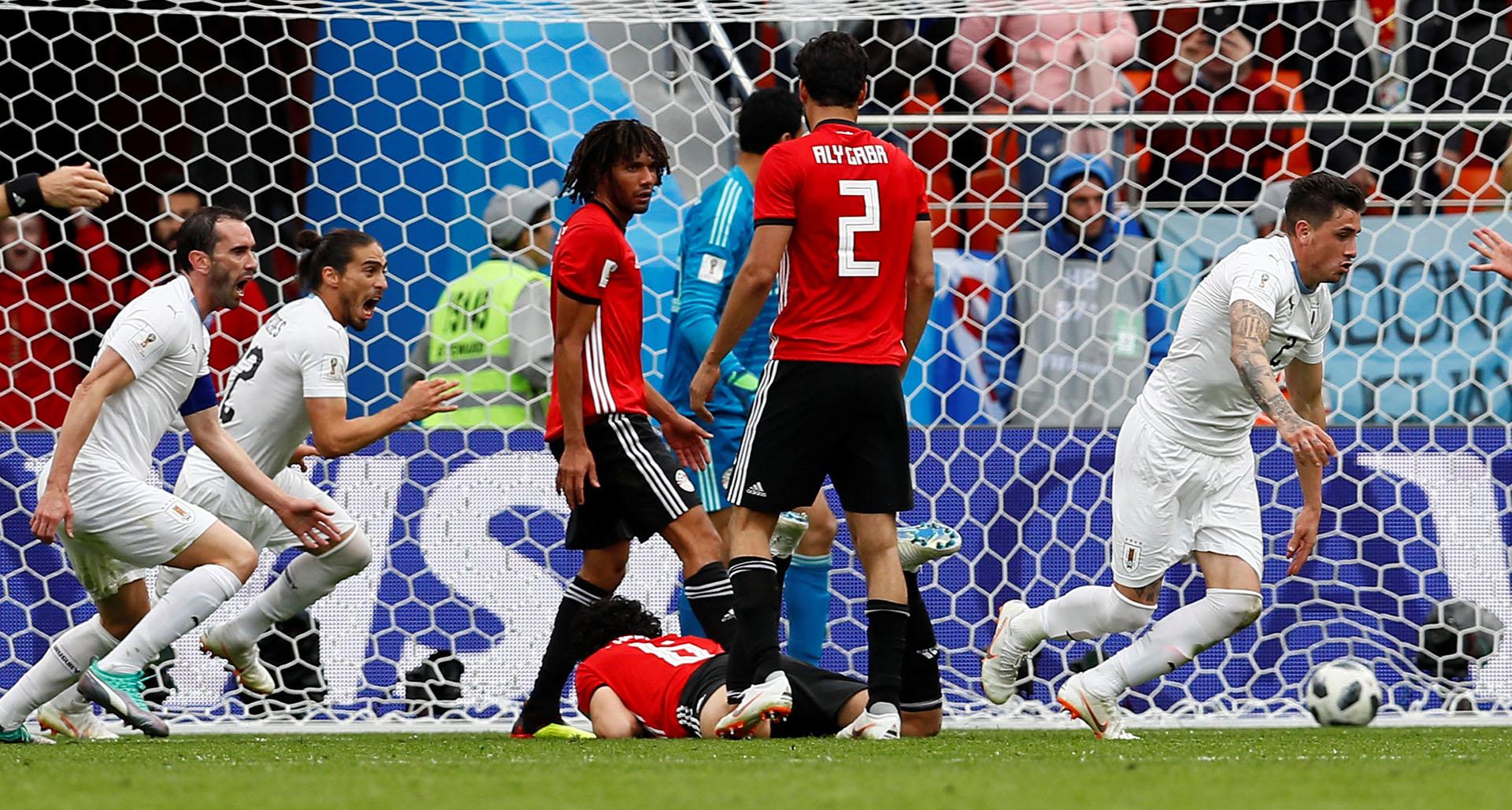 Egipto no pudo aguantar el empate