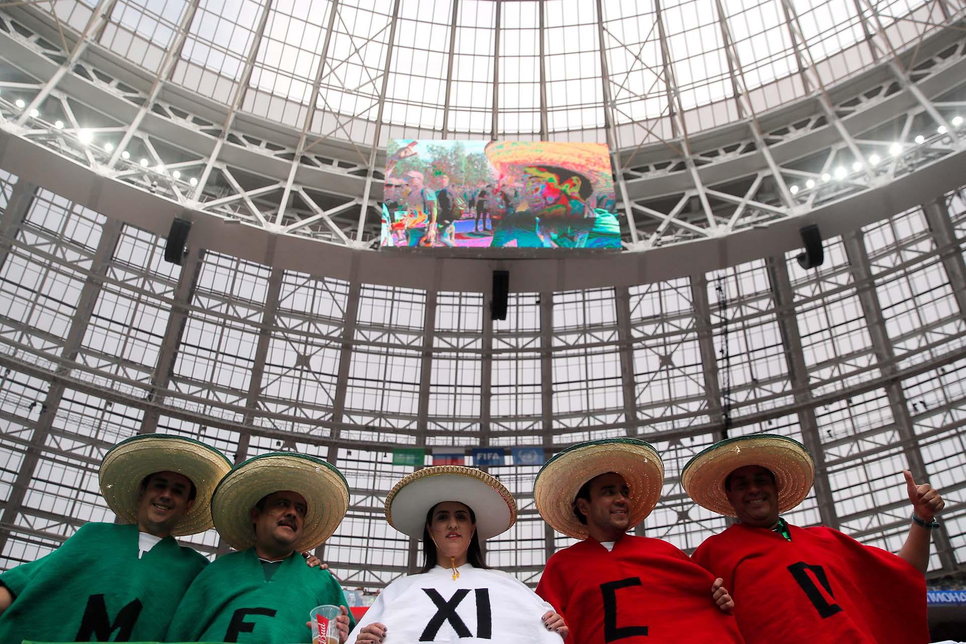 México forma parte del grupo F junto a Alemania, Suecia y Corea del Sur