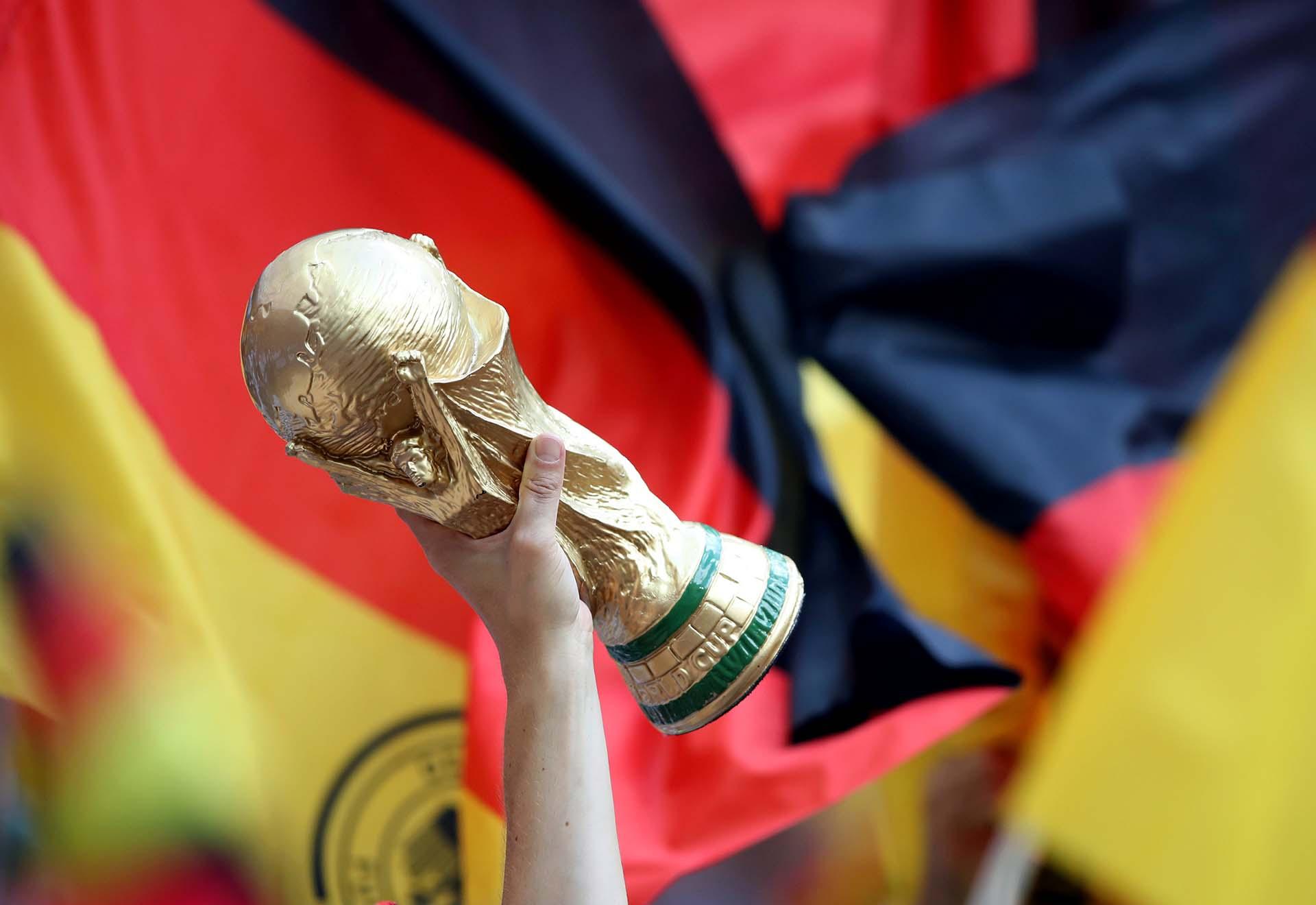 Los fanáticos alemanes sueñan con revalidar el título del 2014