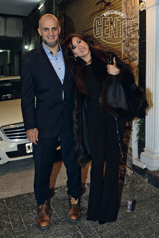 Valeria Archimó y Guillermo Marín (Foto Diego Soldini/GENTE)